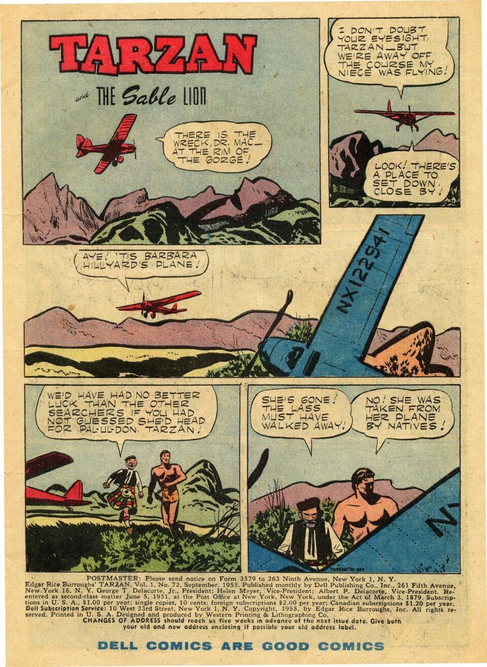 Tarzan (1948) issue 72 - Page 3