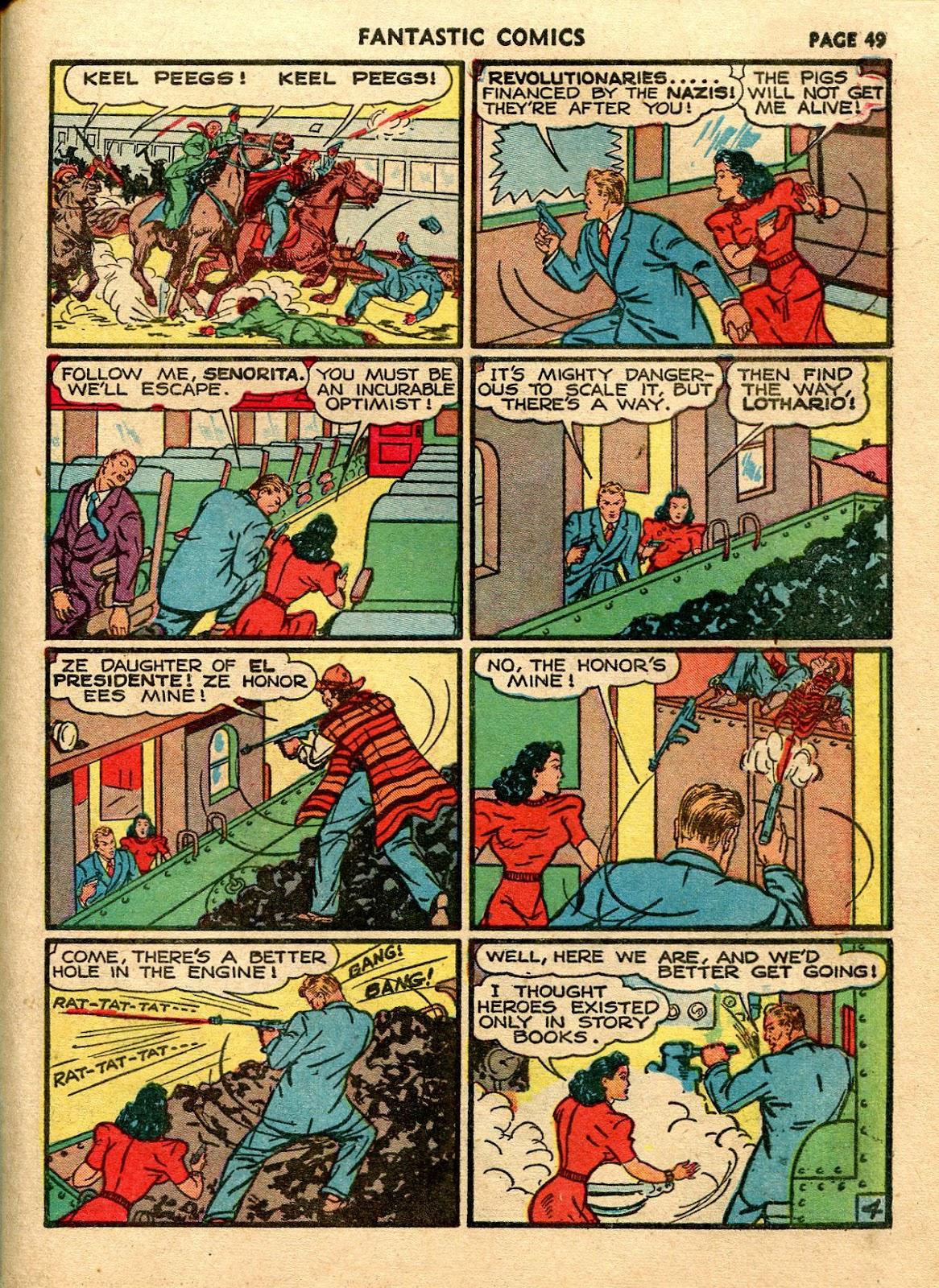 Read online Fantastic Comics comic -  Issue #21 - 47