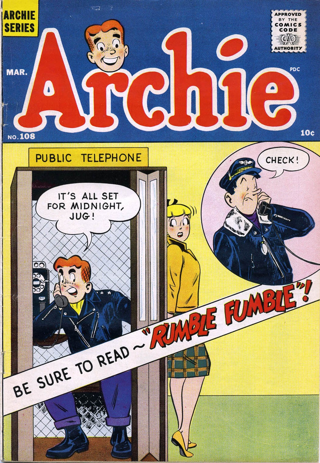 Archie Comics issue 108 - Page 1