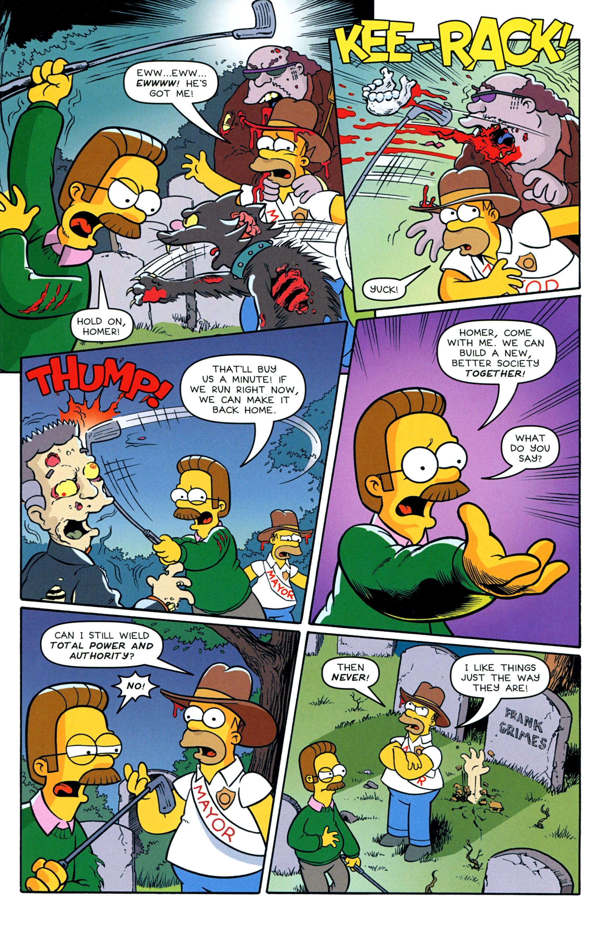 Read online Treehouse of Horror comic -  Issue #20 - 20