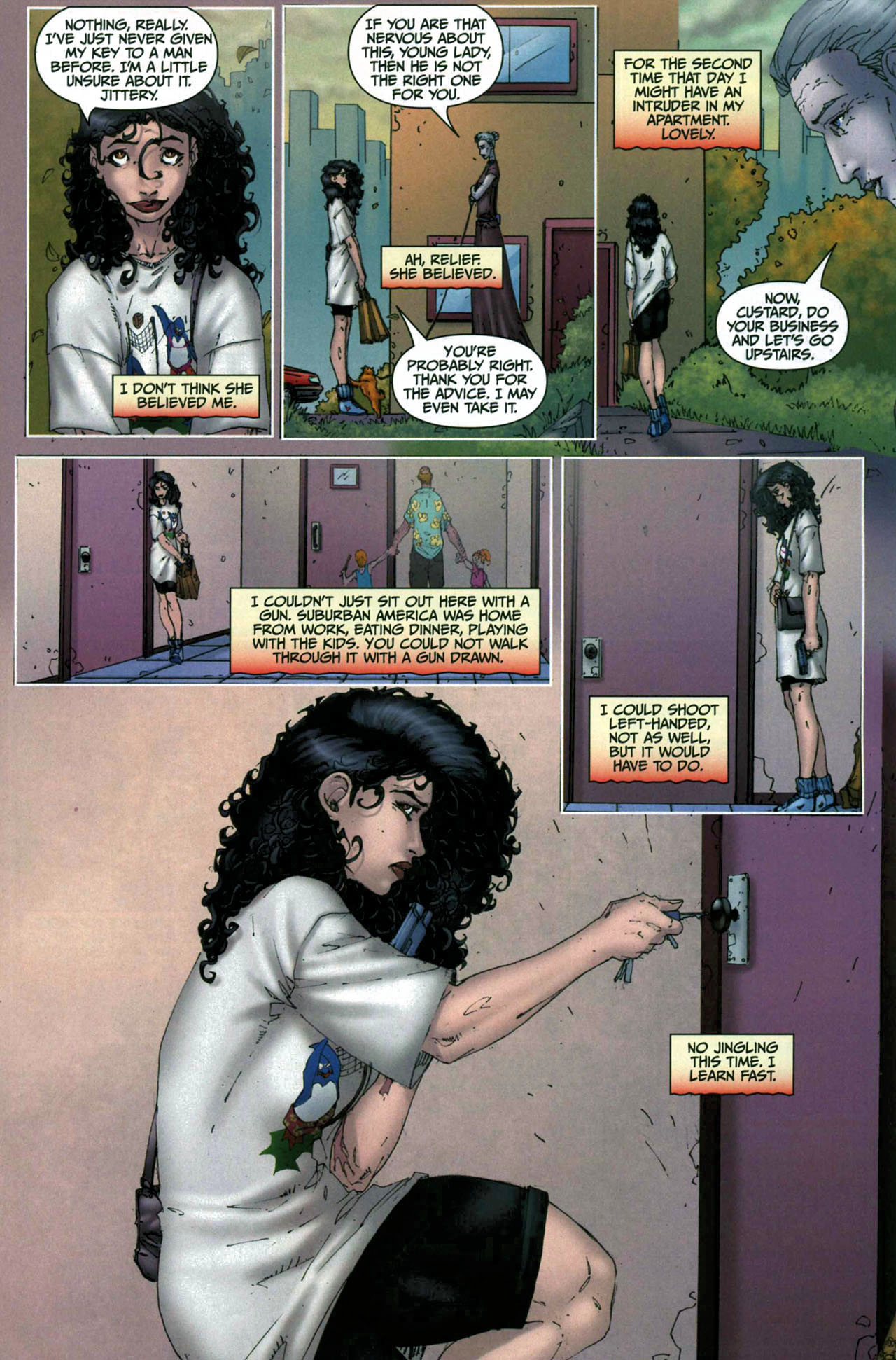 Read online Anita Blake, Vampire Hunter: Guilty Pleasures comic -  Issue #6 - 9