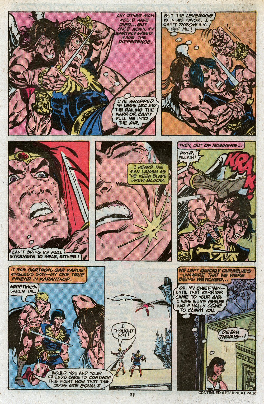John Carter Warlord of Mars issue 19 - Page 13