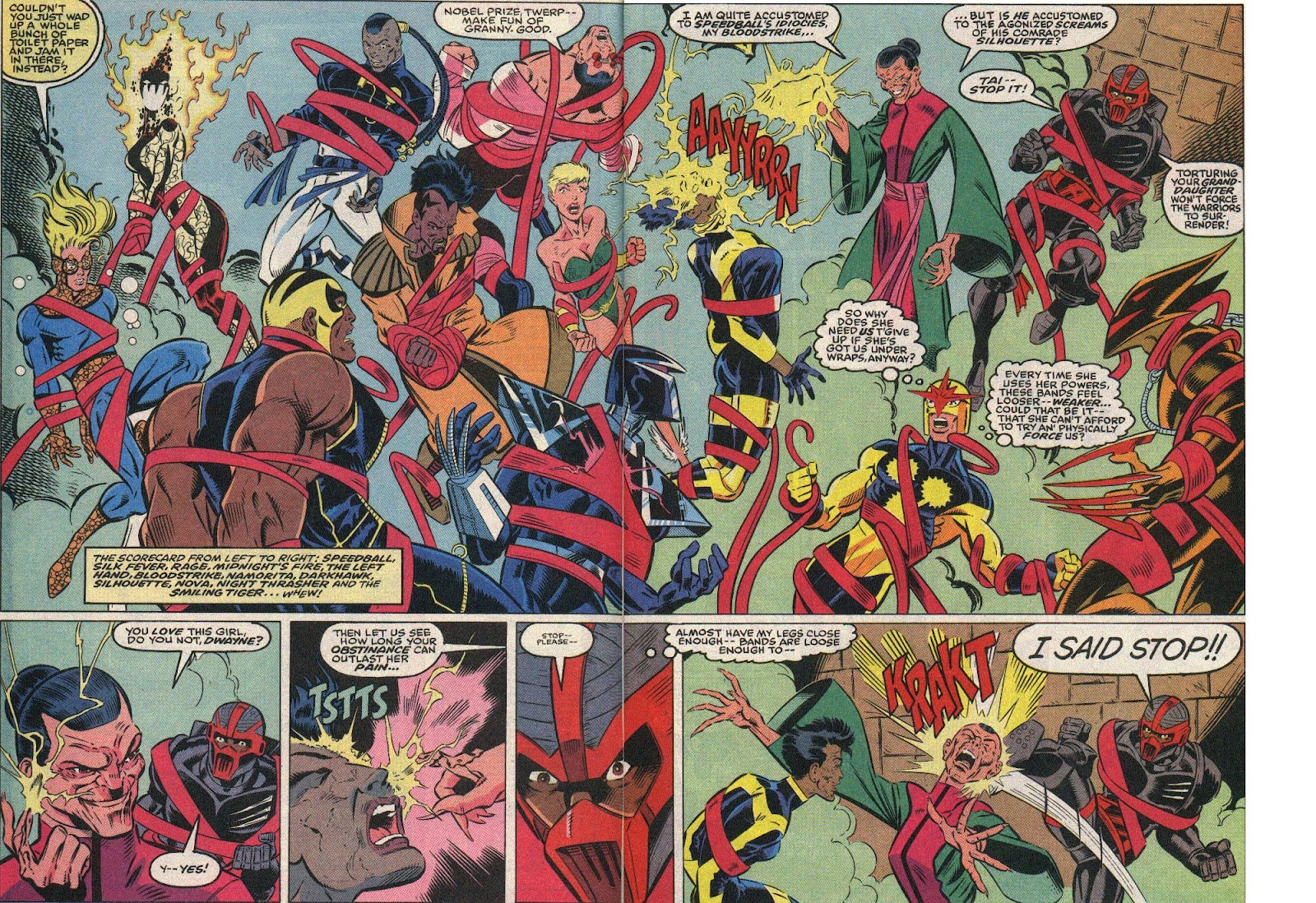The New Warriors Issue #25 #29 - English 4