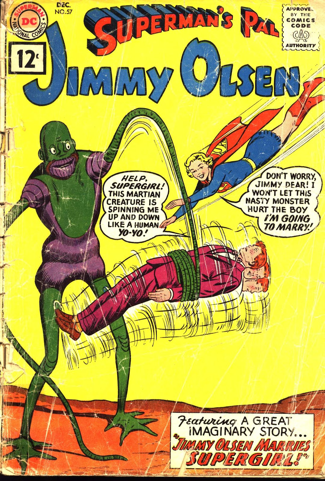 Supermans Pal Jimmy Olsen (1954) 57 Page 1
