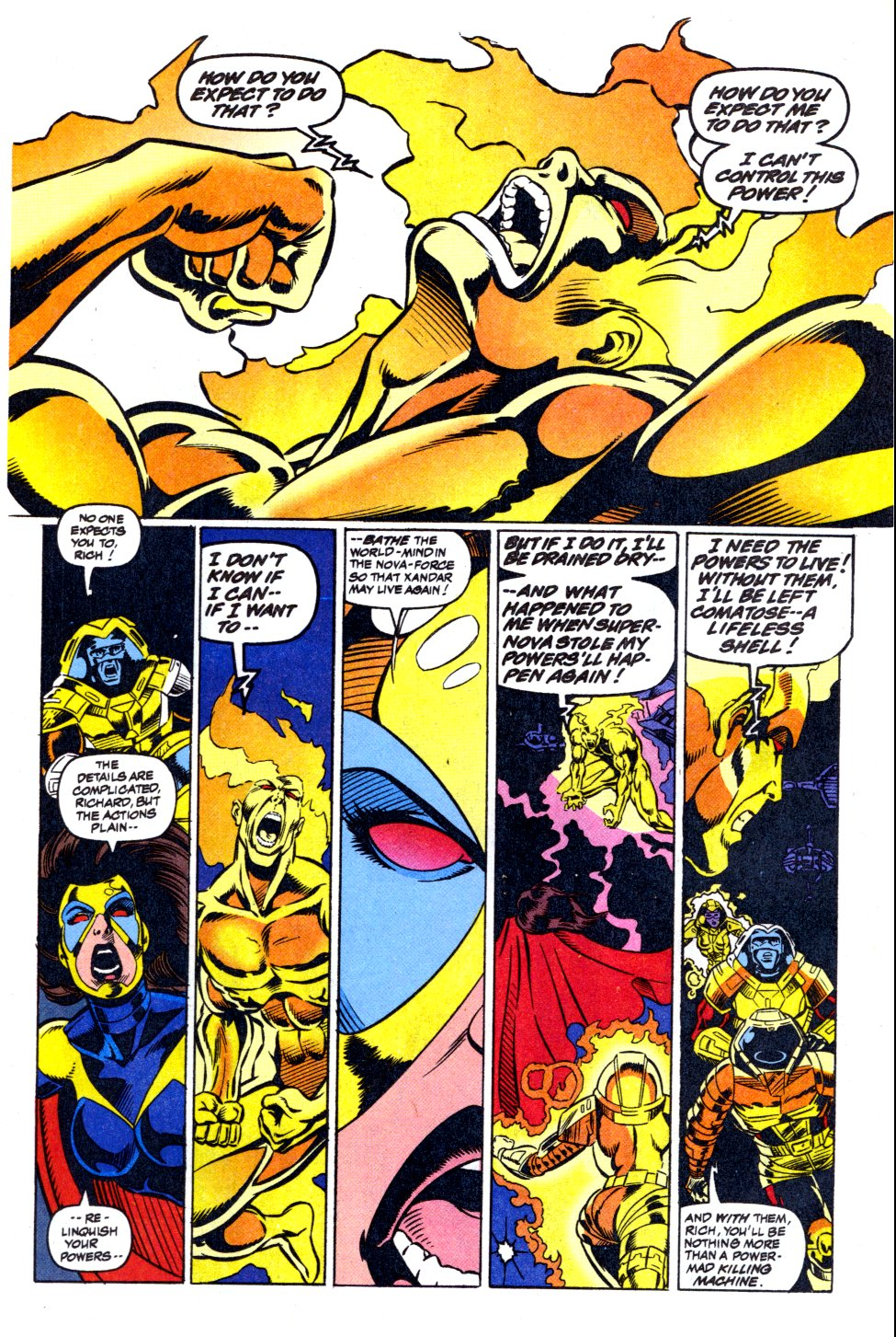The New Warriors Issue #42 #46 - English 20
