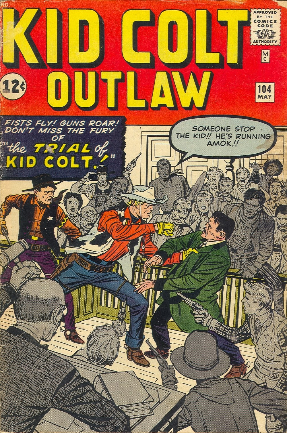 Kid Colt Outlaw issue 104 - Page 1