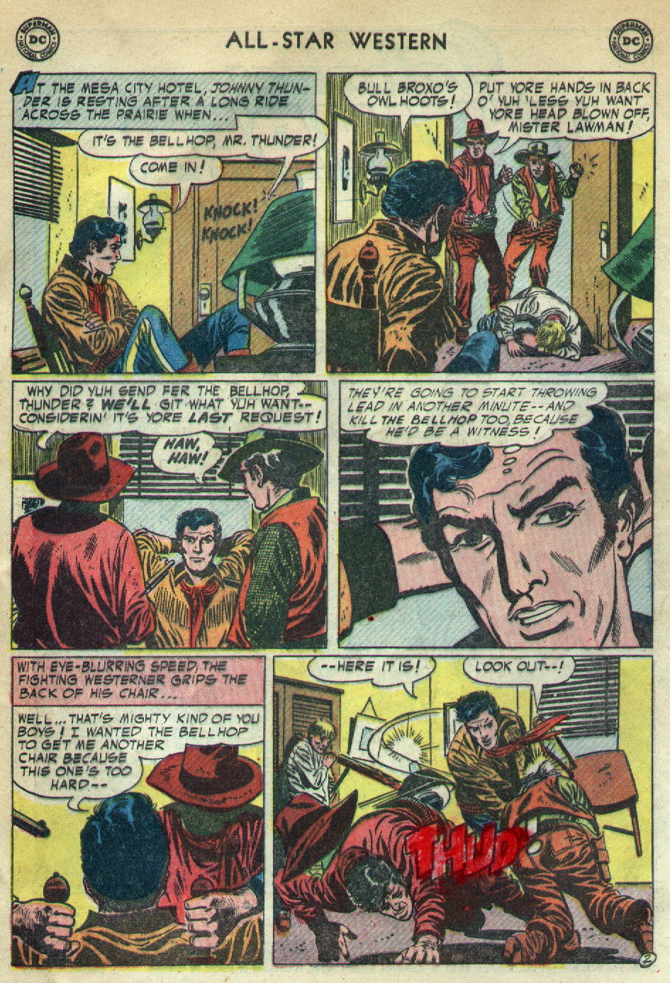 Read online All-Star Western (1951) comic -  Issue #79 - 4