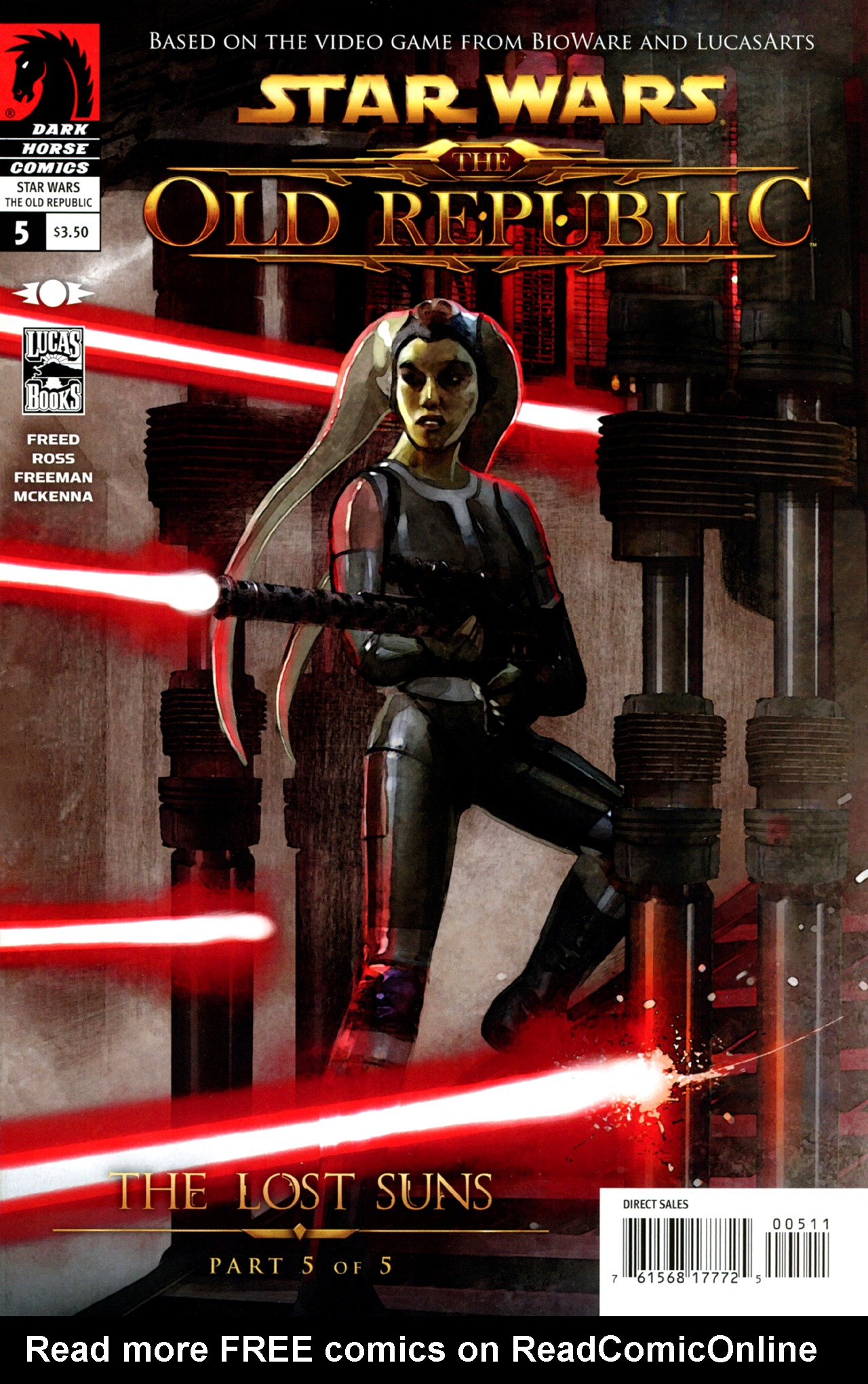 Read online Star Wars: The Old Republic - The Lost Suns comic -  Issue #5 - 1