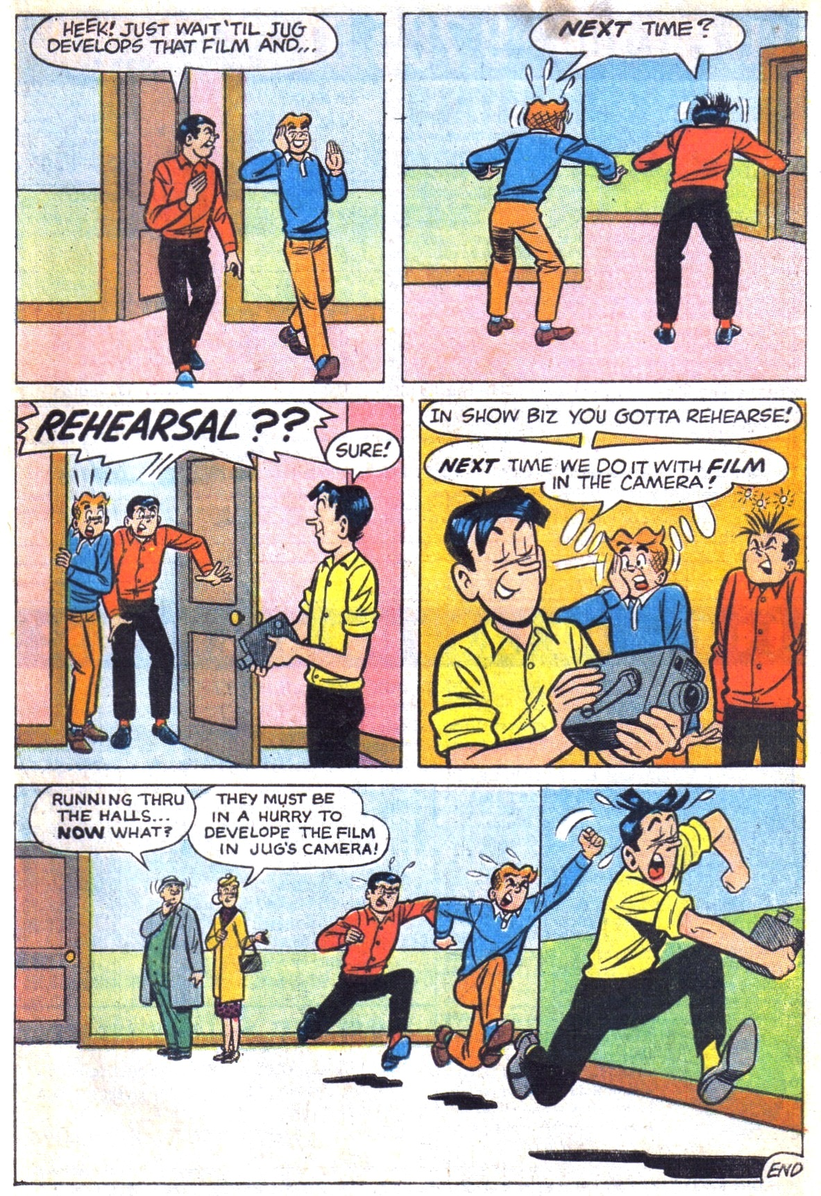Read online Archie (1960) comic -  Issue #169 - 33