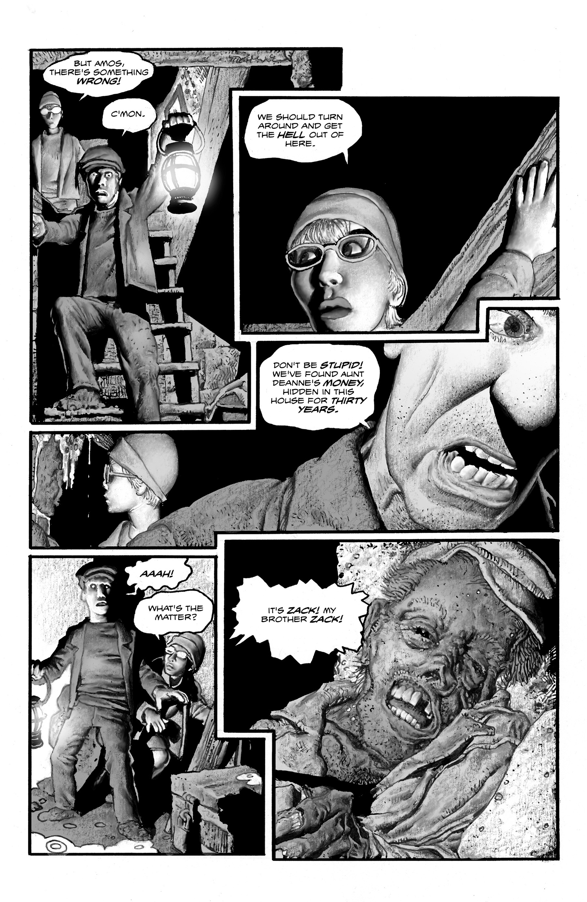 Read online Shadows on the Grave comic -  Issue #2 - 9