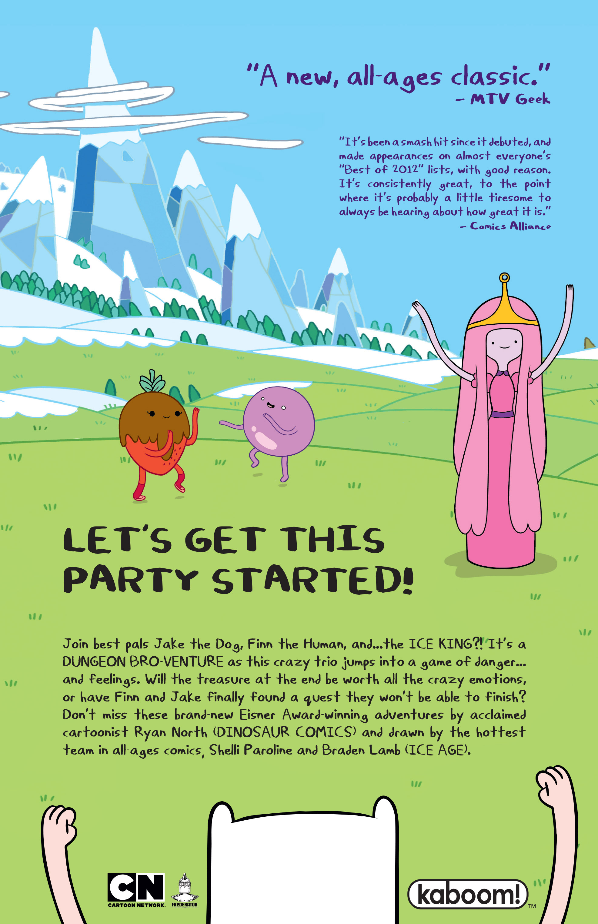Read online Adventure Time comic -  Issue #Adventure Time _TPB 4 - 130