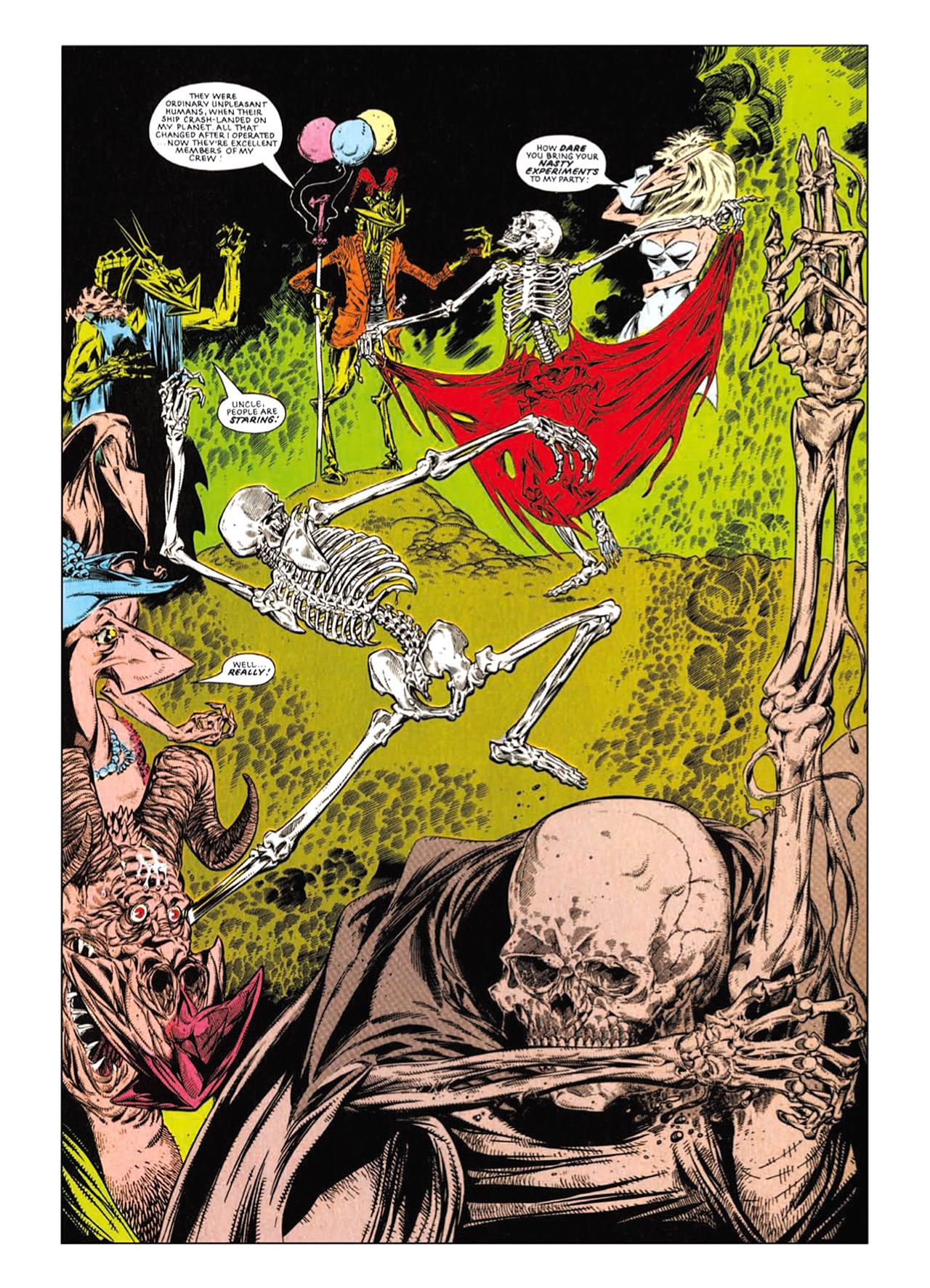Read online Nemesis The Warlock comic -  Issue # TPB Deviant Edition - 167
