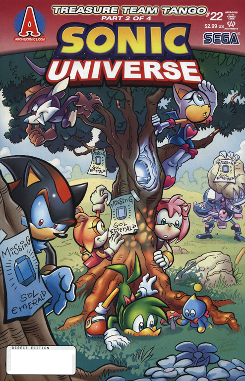 Read online Sonic Universe comic -  Issue #22 - 1