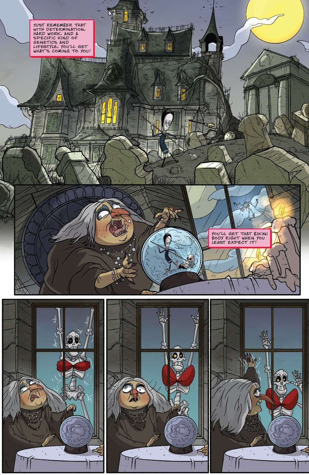 Read online Addams Family: The Bodies Issue comic -  Issue # Full - 15