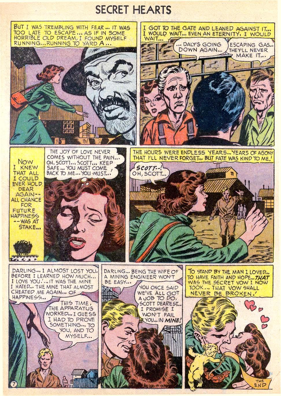 Read online Secret Hearts comic -  Issue #11 - 16