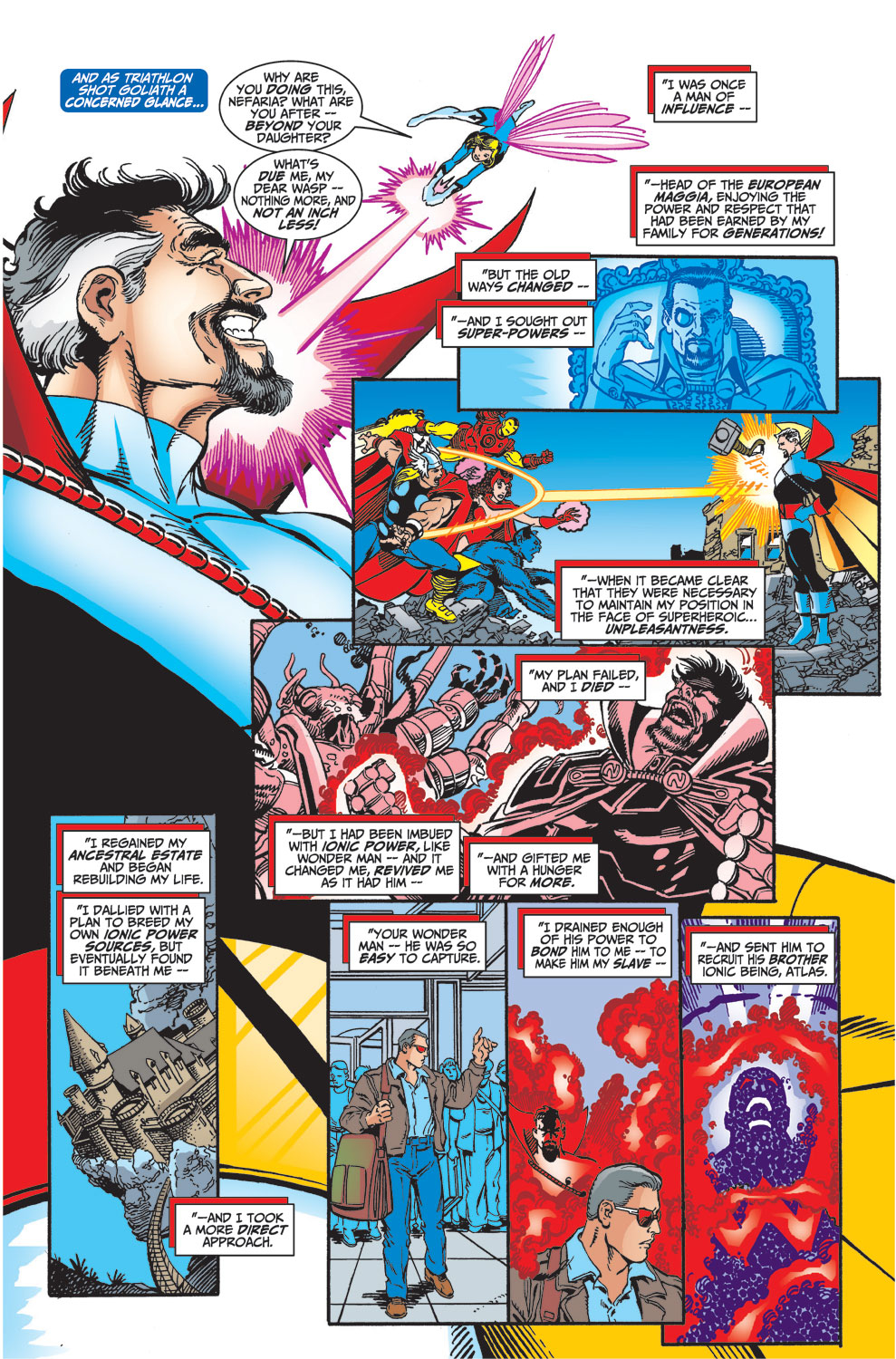 Read online Avengers (1998) comic -  Issue #33 - 7