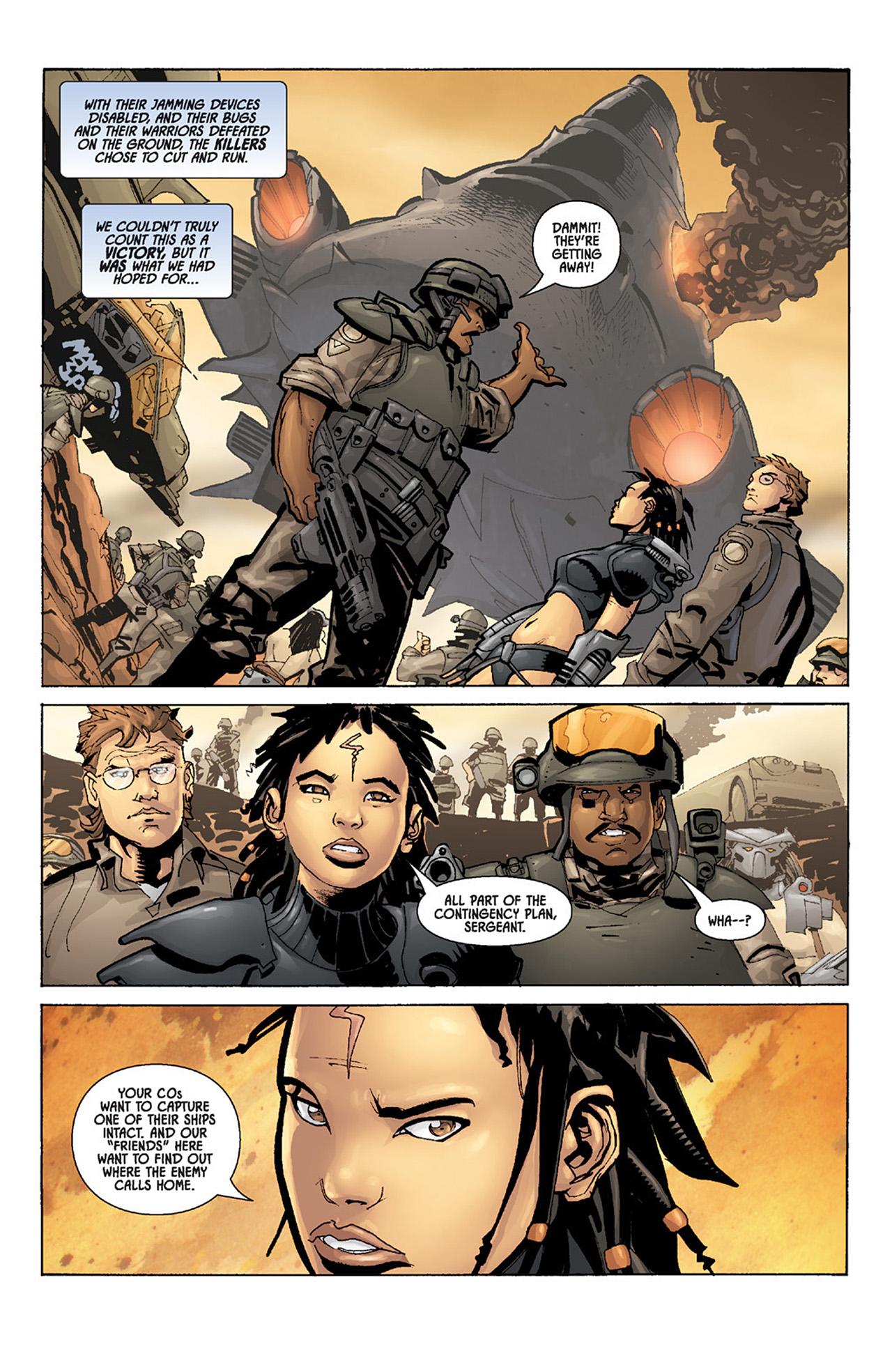 Read online Aliens vs. Predator: Three World War comic -  Issue #5 - 3