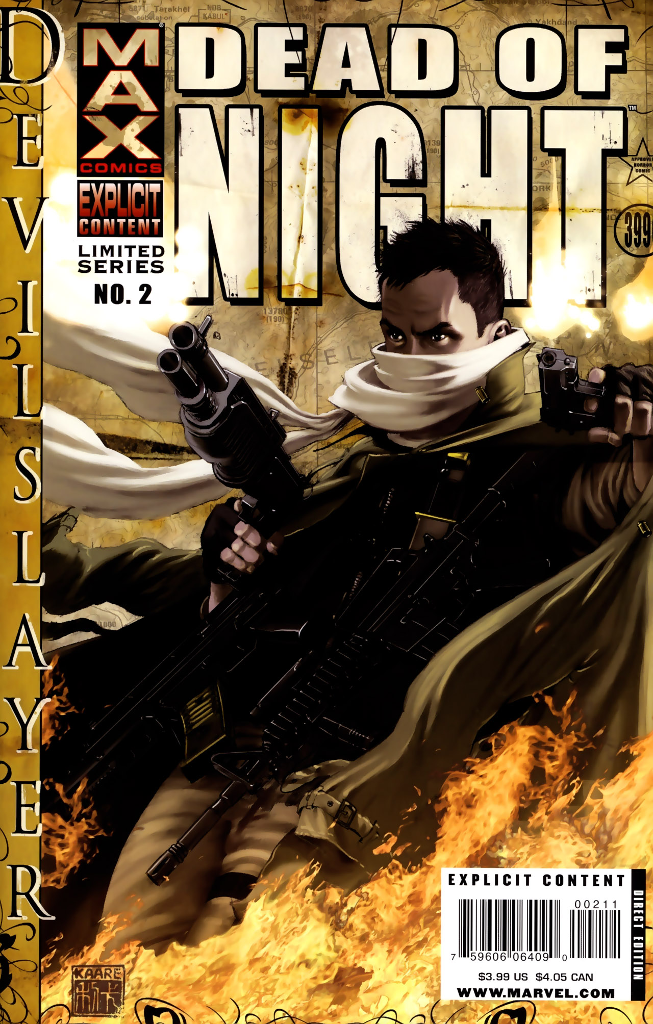 Read online Dead of Night Featuring Devil-Slayer comic -  Issue #2 - 1