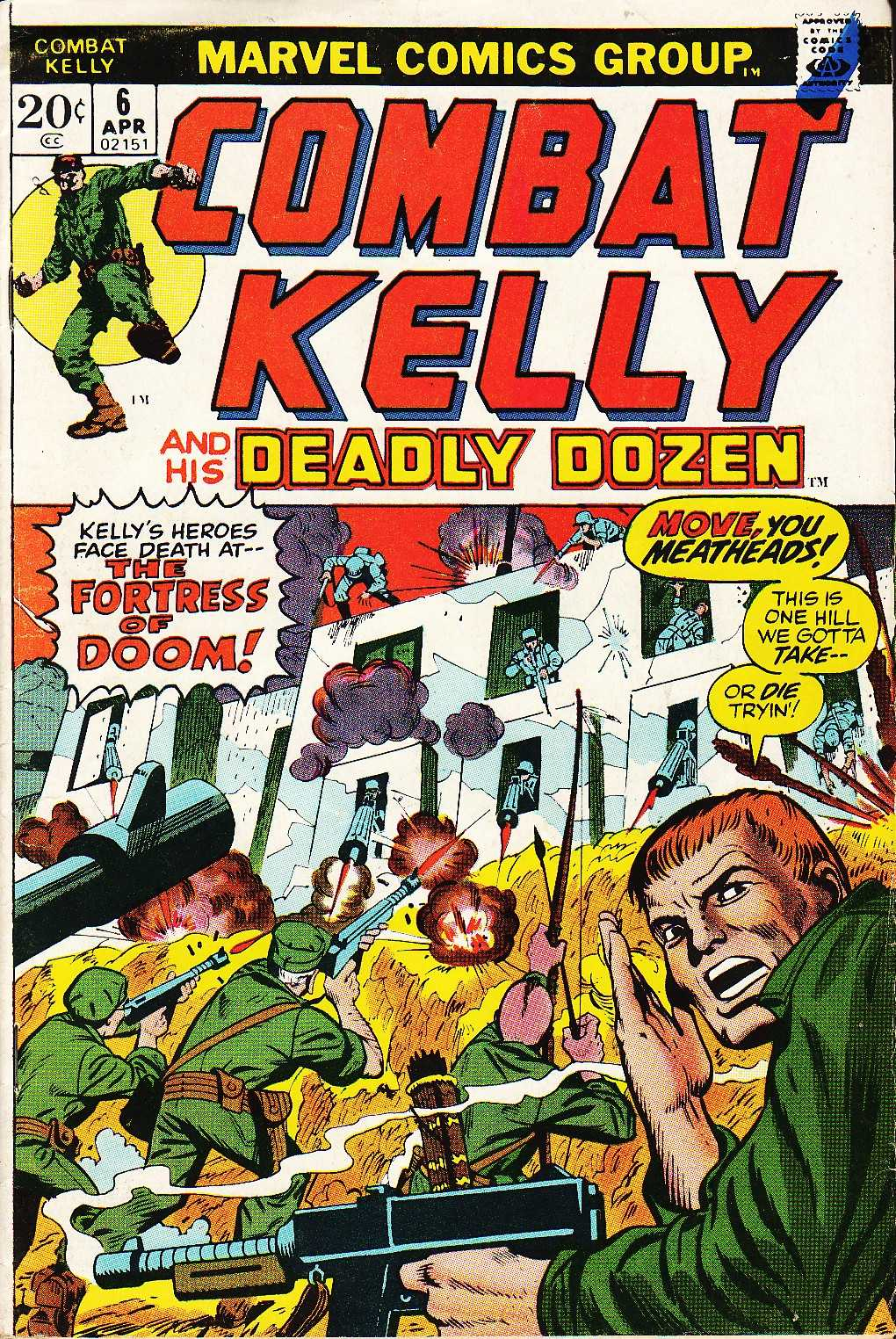 Combat Kelly (1972) 6 Page 1