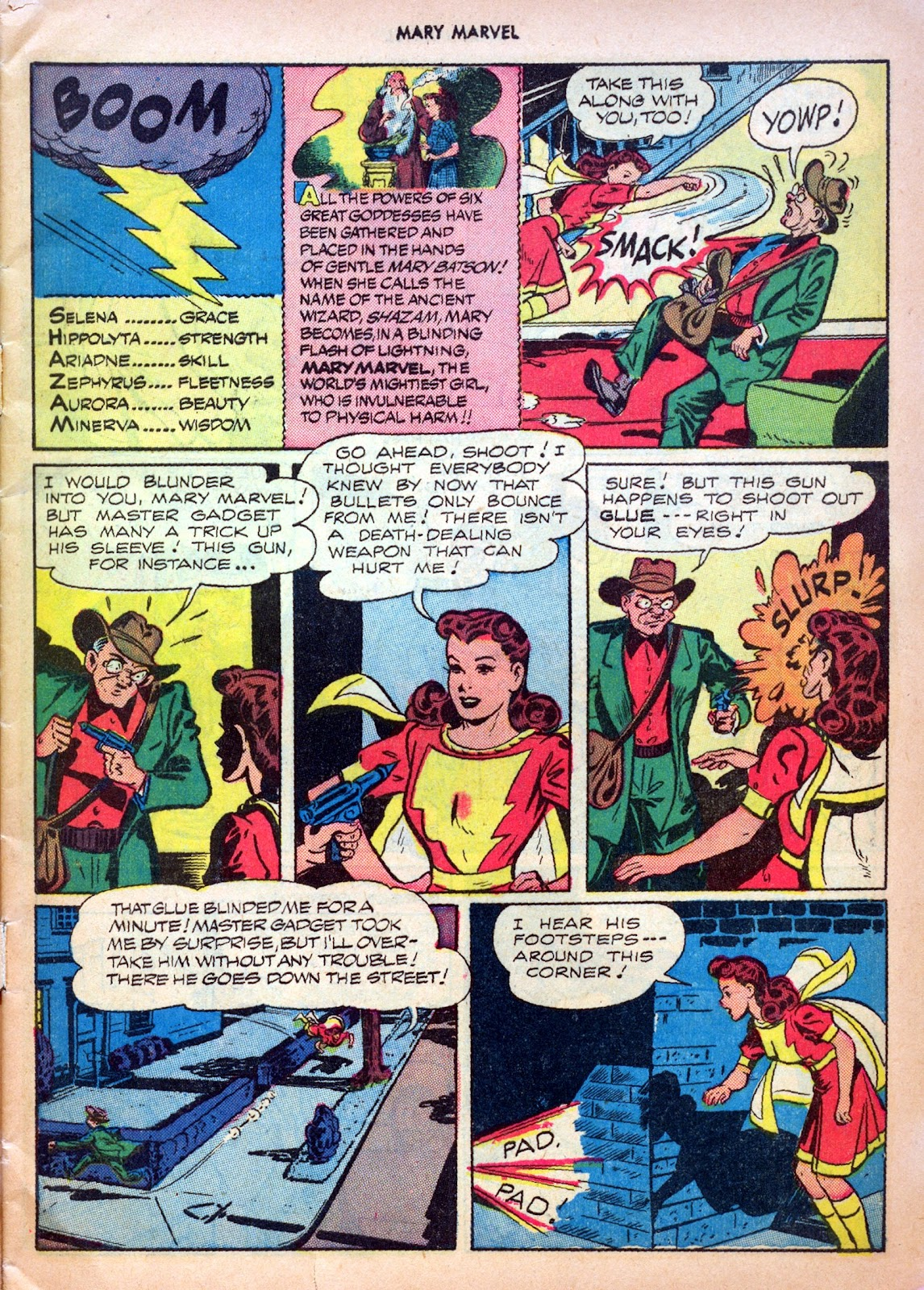 Read online Mary Marvel comic -  Issue #27 - 5
