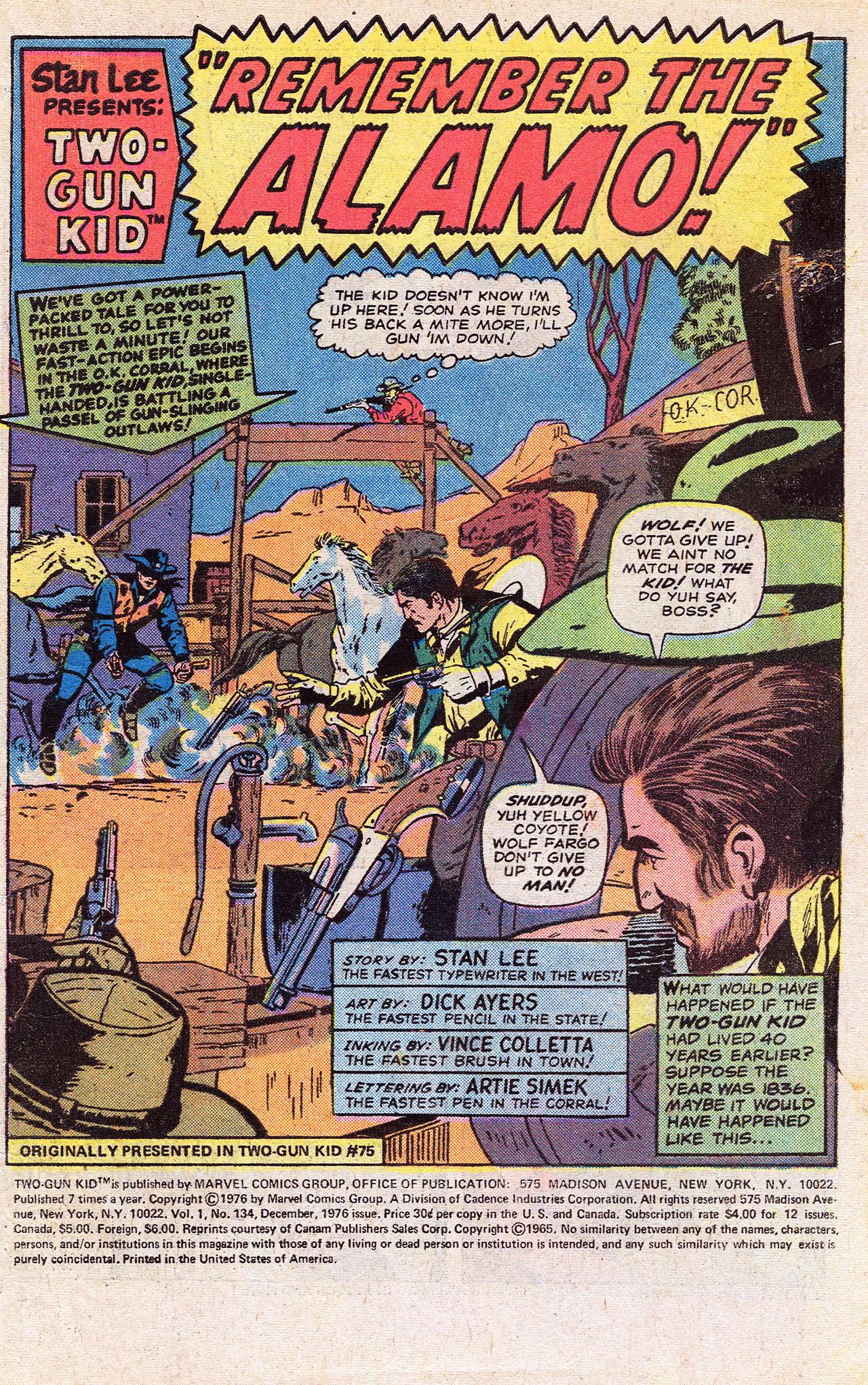 Read online Two-Gun Kid comic -  Issue #134 - 3