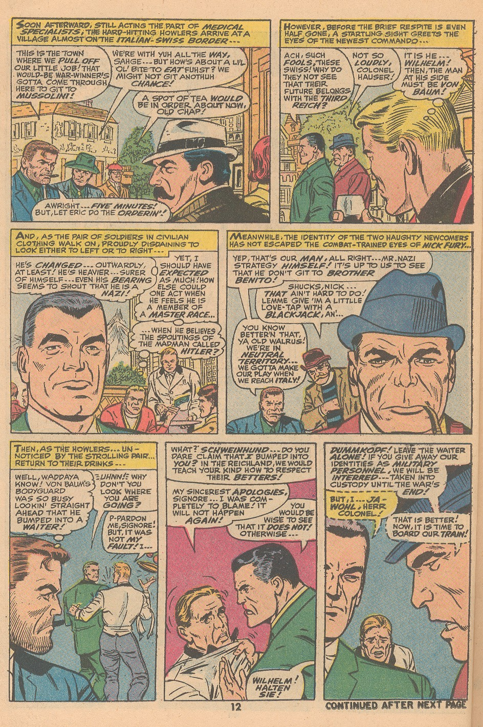 Read online Sgt. Fury comic -  Issue #105 - 14
