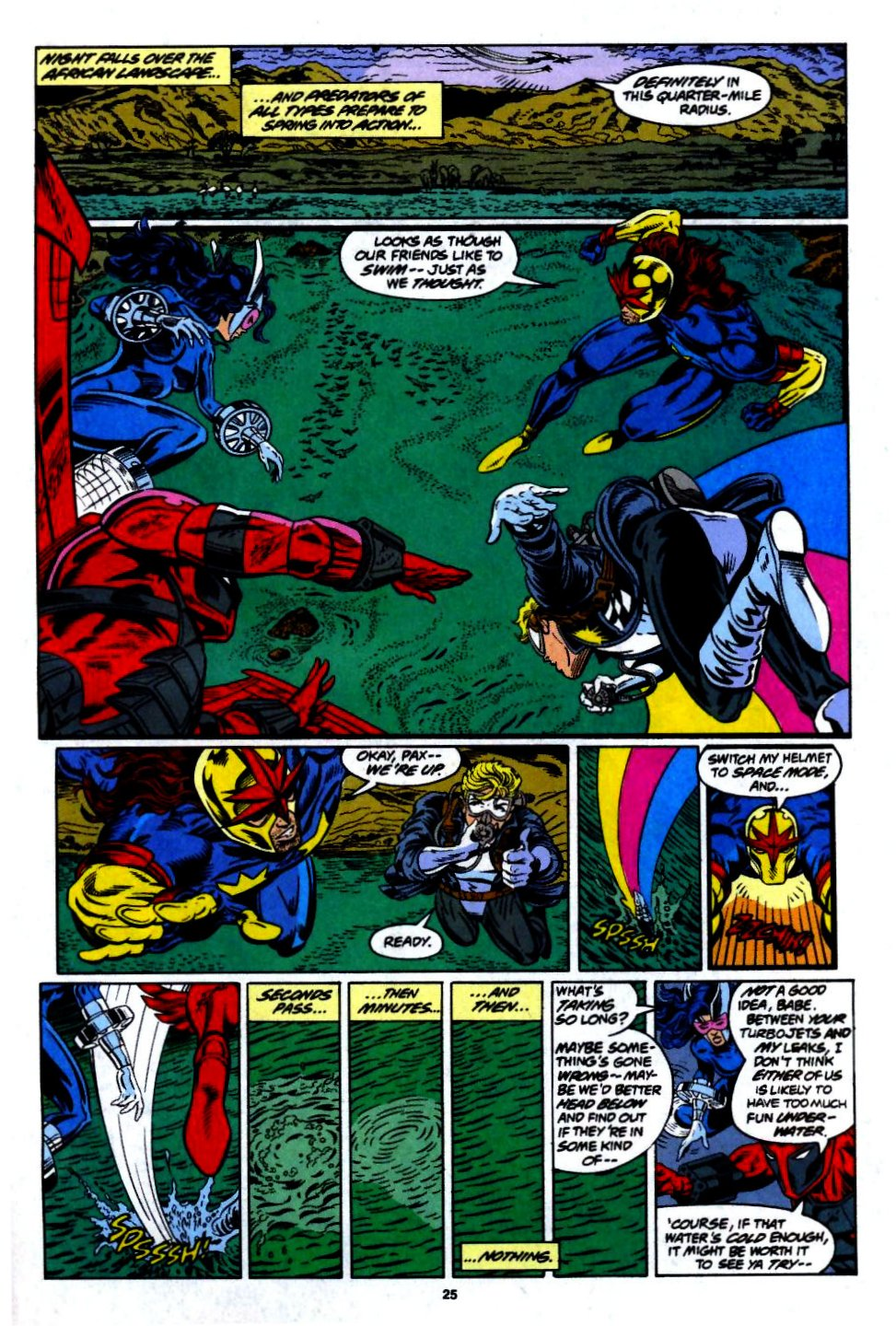 The New Warriors Issue #55 #59 - English 20