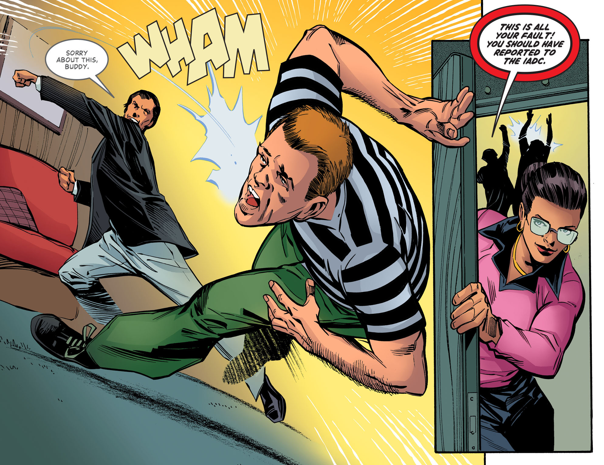 Read online Wonder Woman '77 [I] comic -  Issue #20 - 8