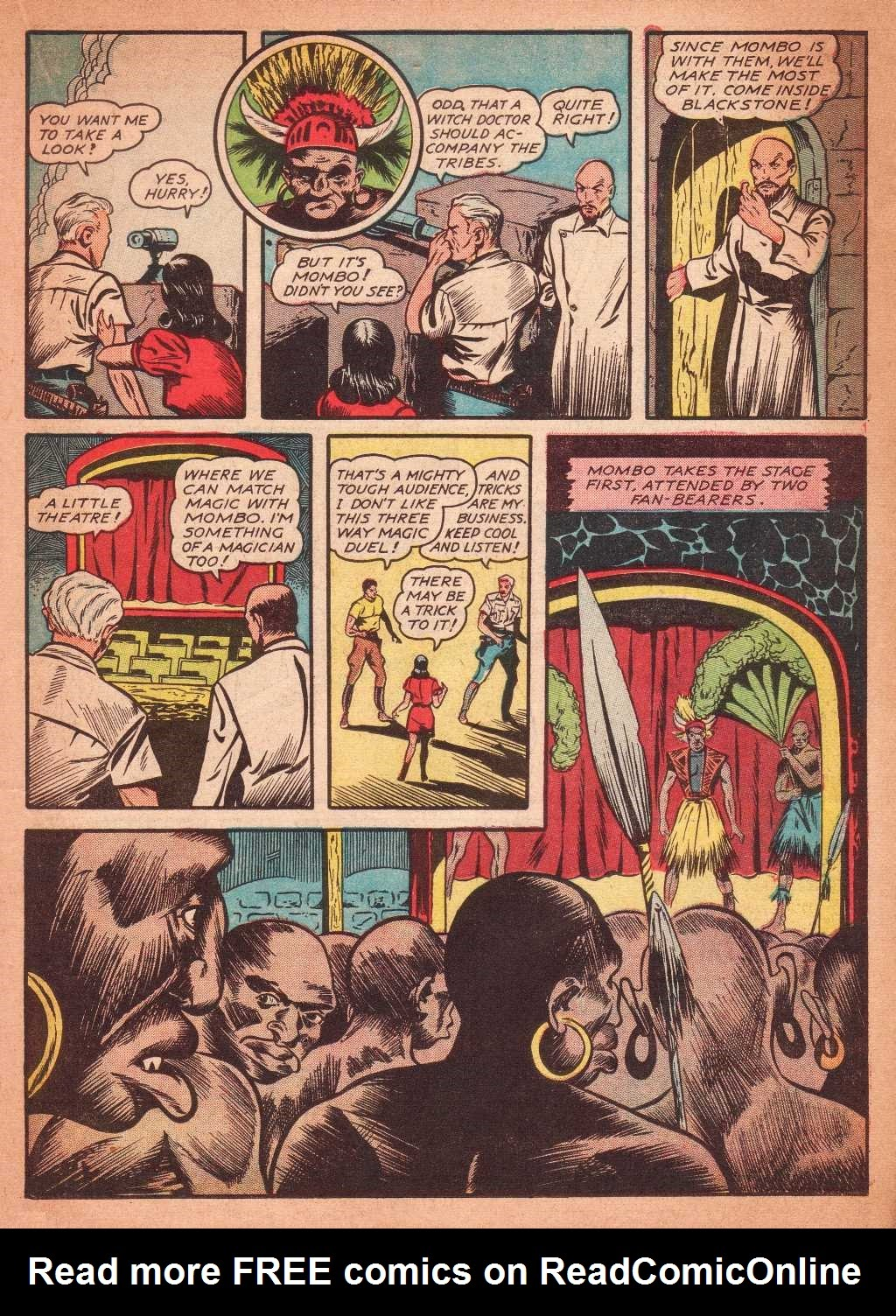 Read online Super-Magician Comics comic -  Issue #2 - 27