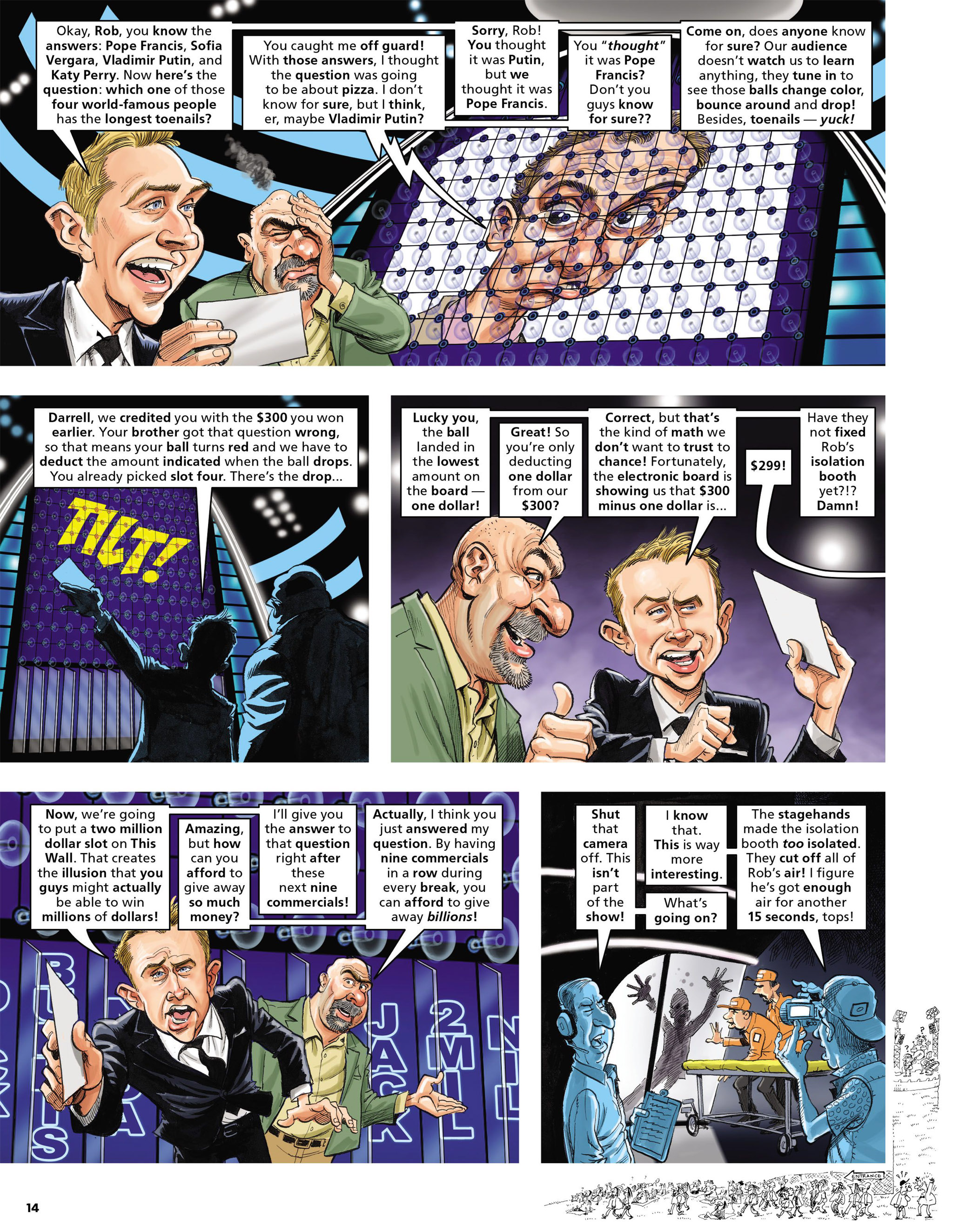 Read online MAD comic -  Issue #546 - 14