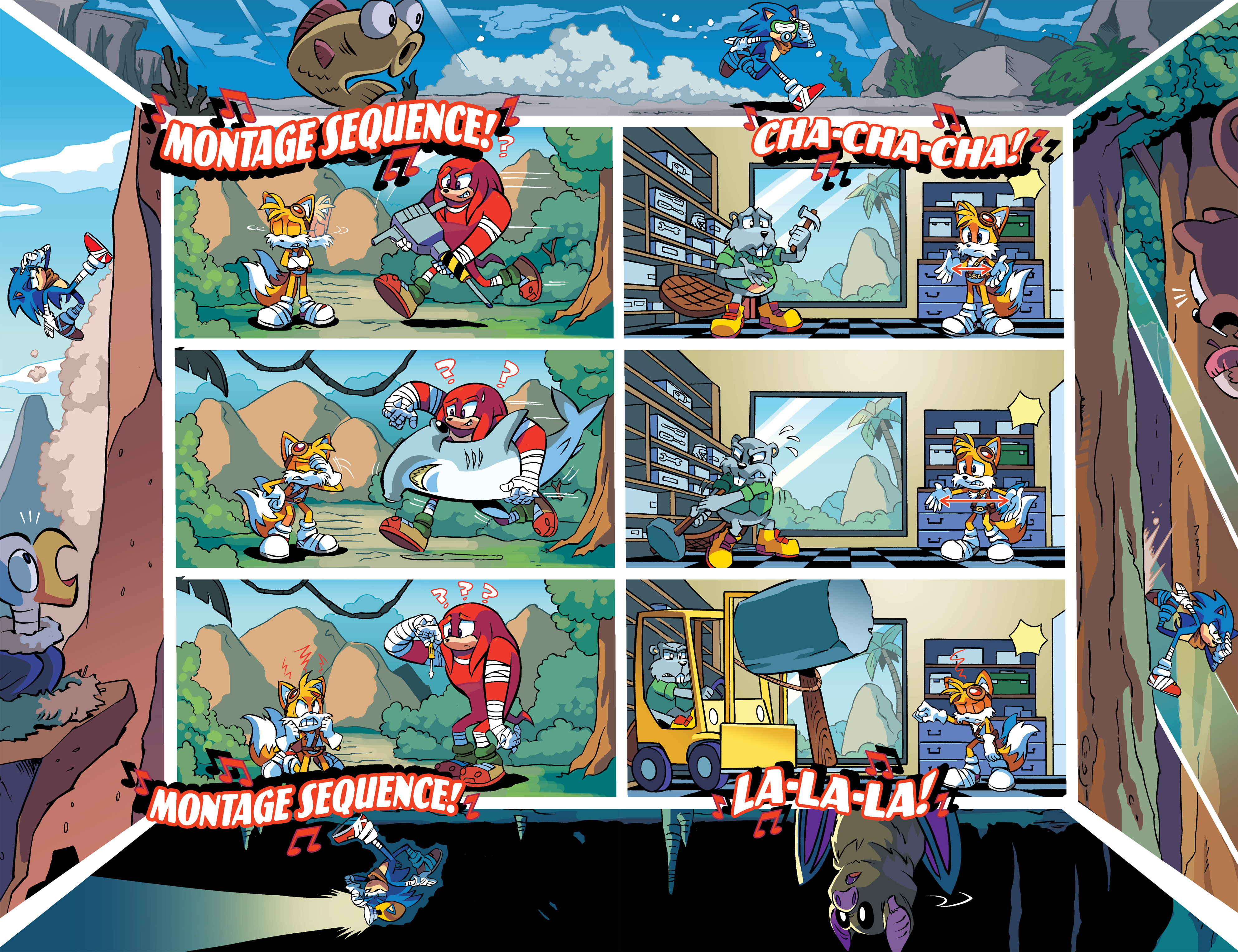 Read online Sonic Boom comic -  Issue #3 - 7