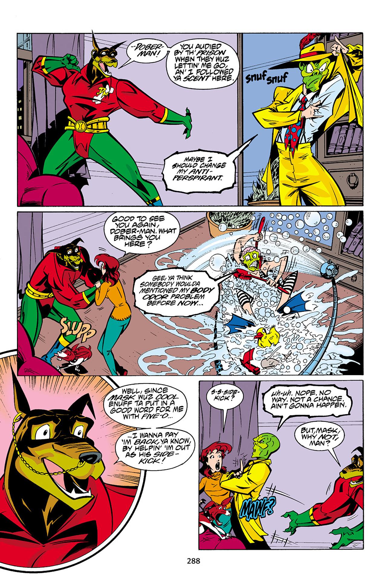 Read online Adventures Of The Mask Omnibus comic -  Issue #Adventures Of The Mask Omnibus Full - 287