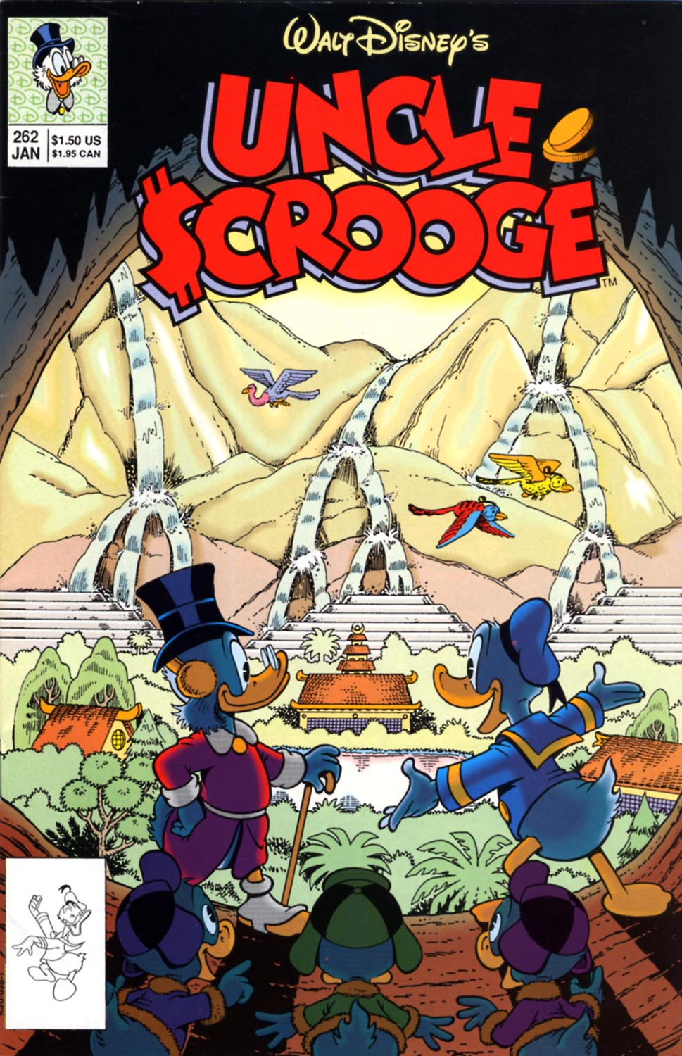Read online Uncle Scrooge (1953) comic -  Issue #262 - 1