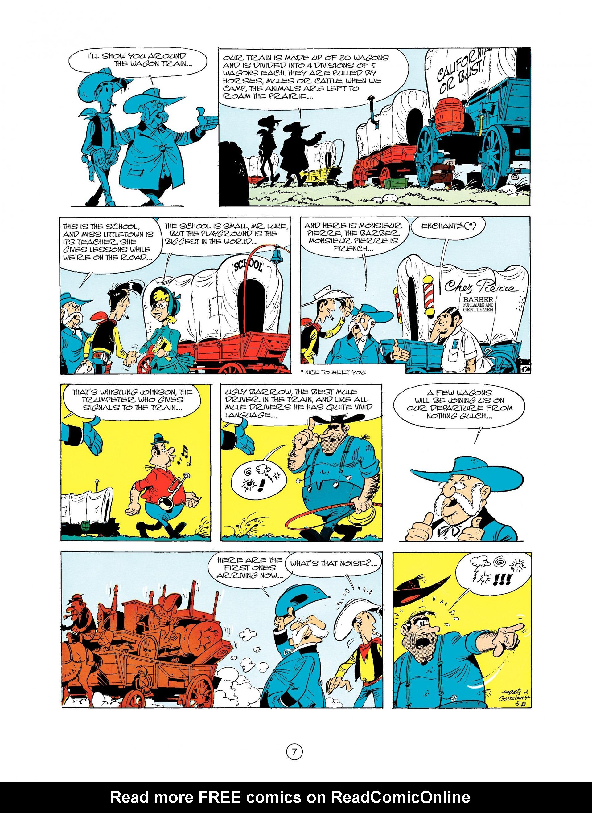 Read online A Lucky Luke Adventure comic -  Issue #9 - 7