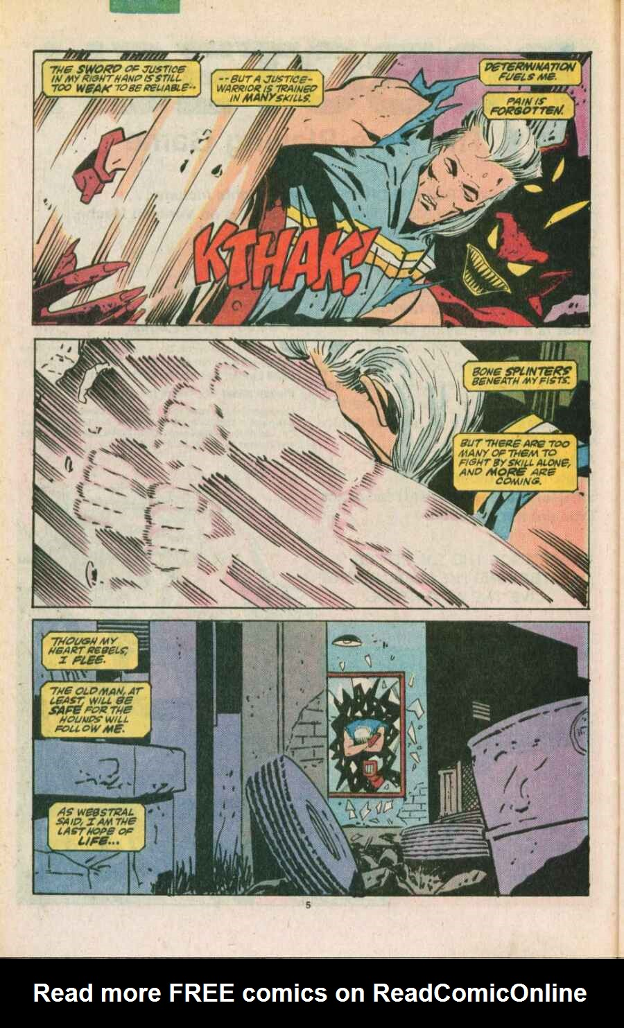 Read online Justice (1986) comic -  Issue #11 - 6