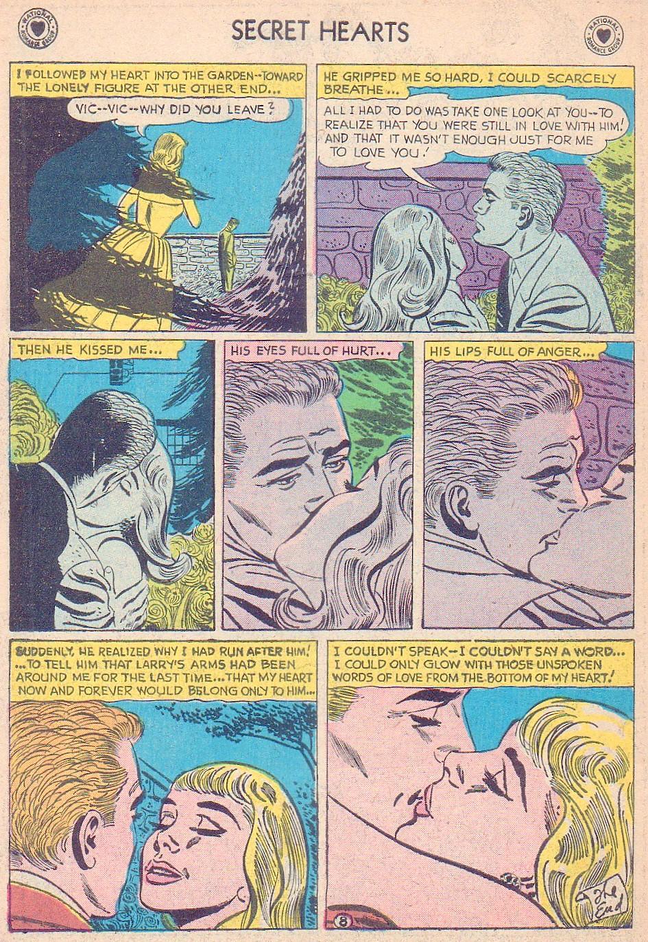 Read online Secret Hearts comic -  Issue #44 - 34