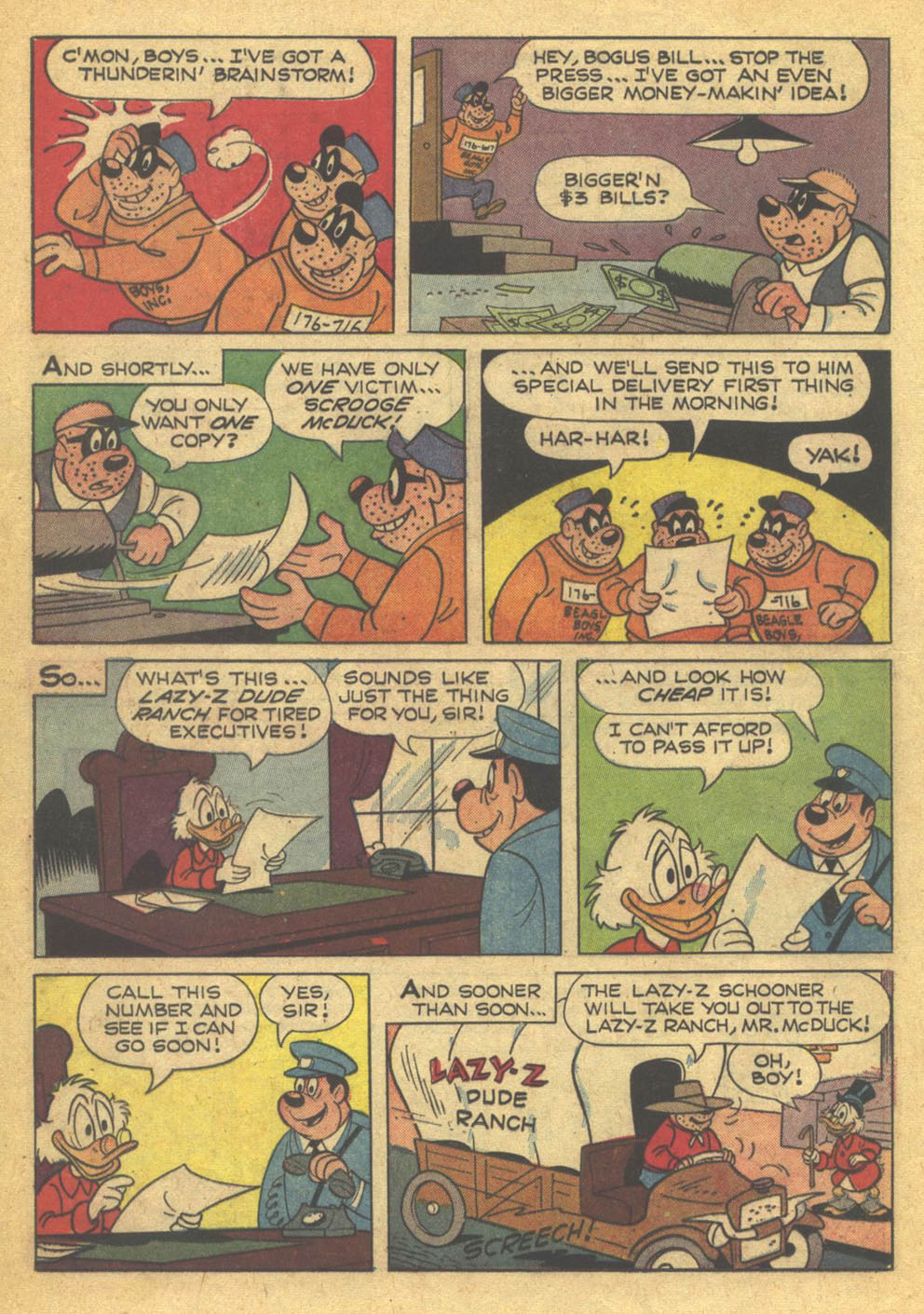 Read online Uncle Scrooge (1953) comic -  Issue #73 - 20