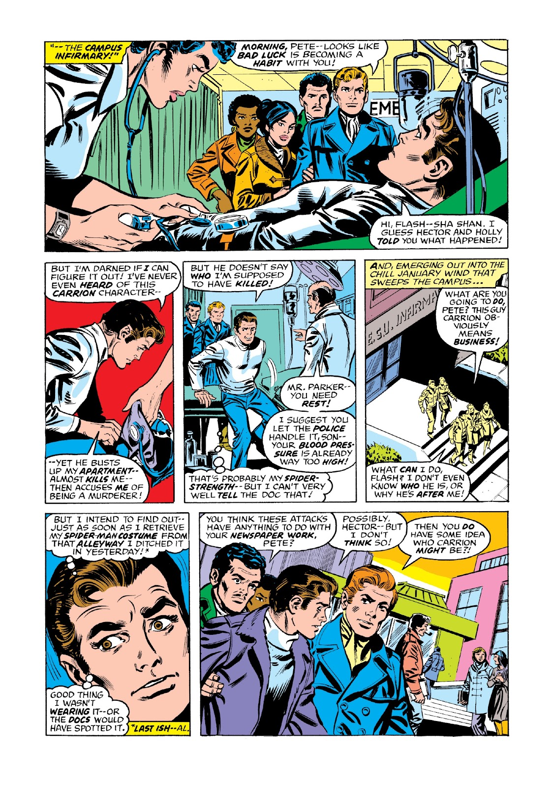 Read online Marvel Masterworks: The Spectacular Spider-Man comic -  Issue # TPB 2 (Part 3) - 52