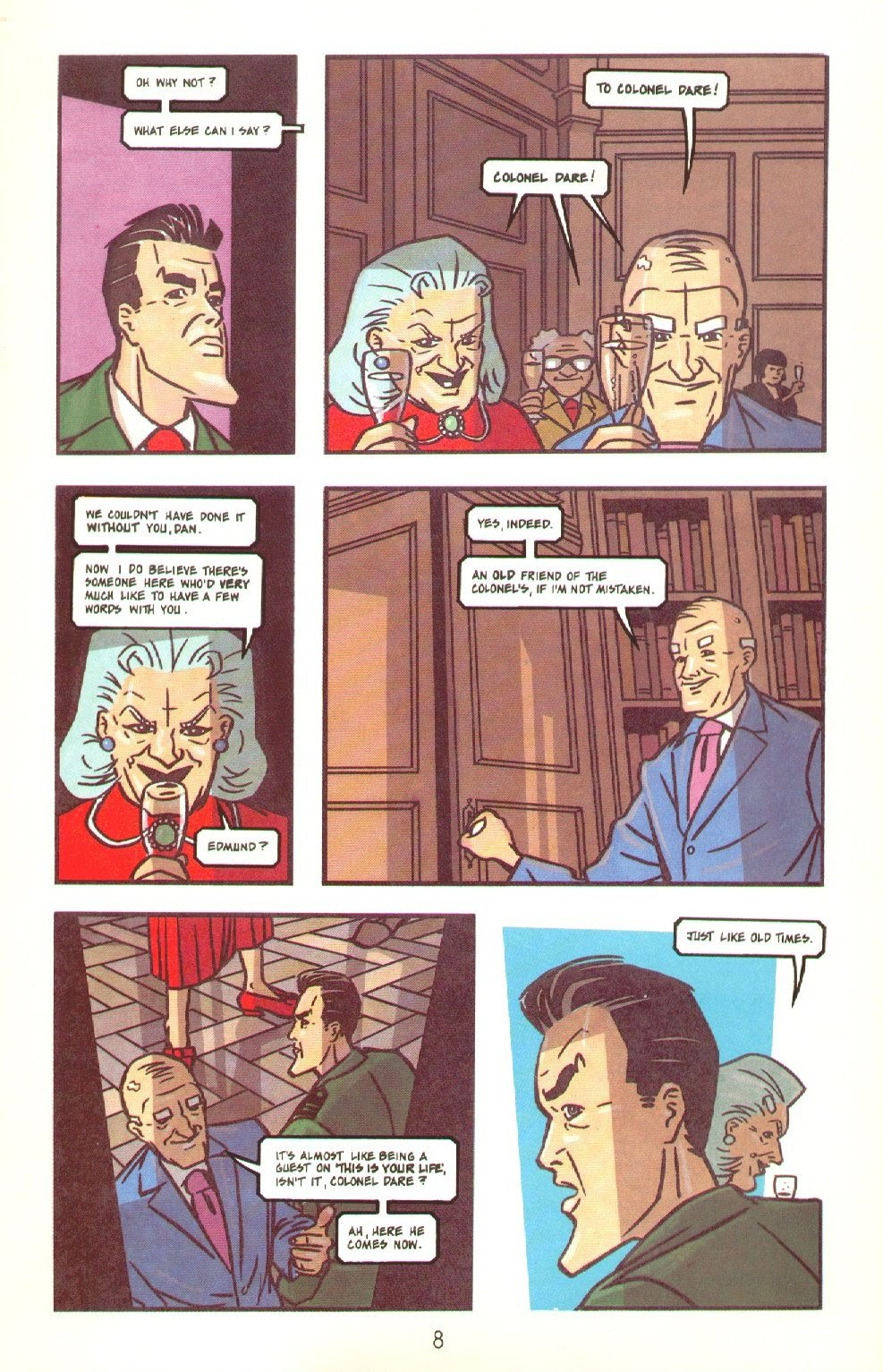 Read online Dare comic -  Issue #4 - 10