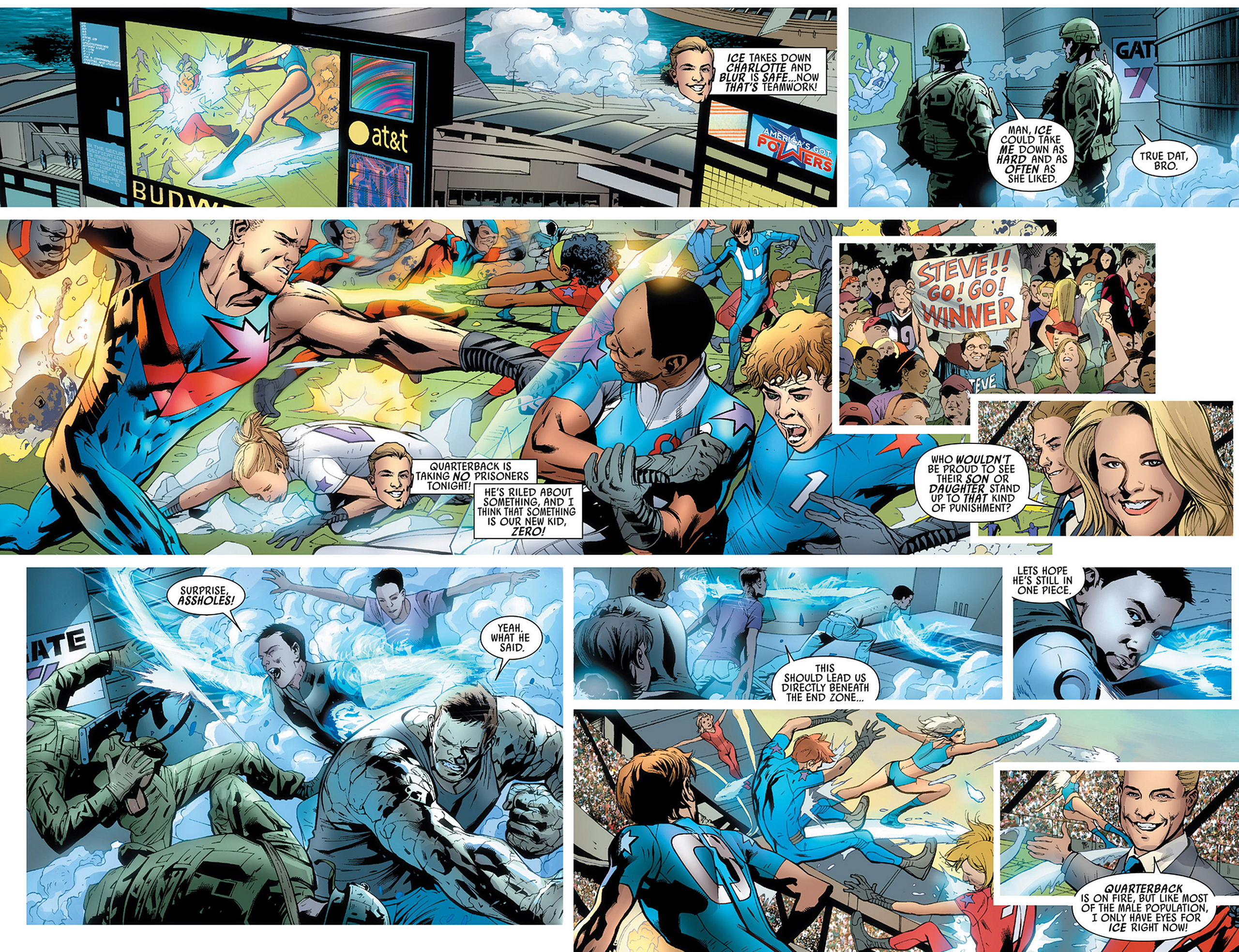 Read online America's Got Powers comic -  Issue #3 - 17