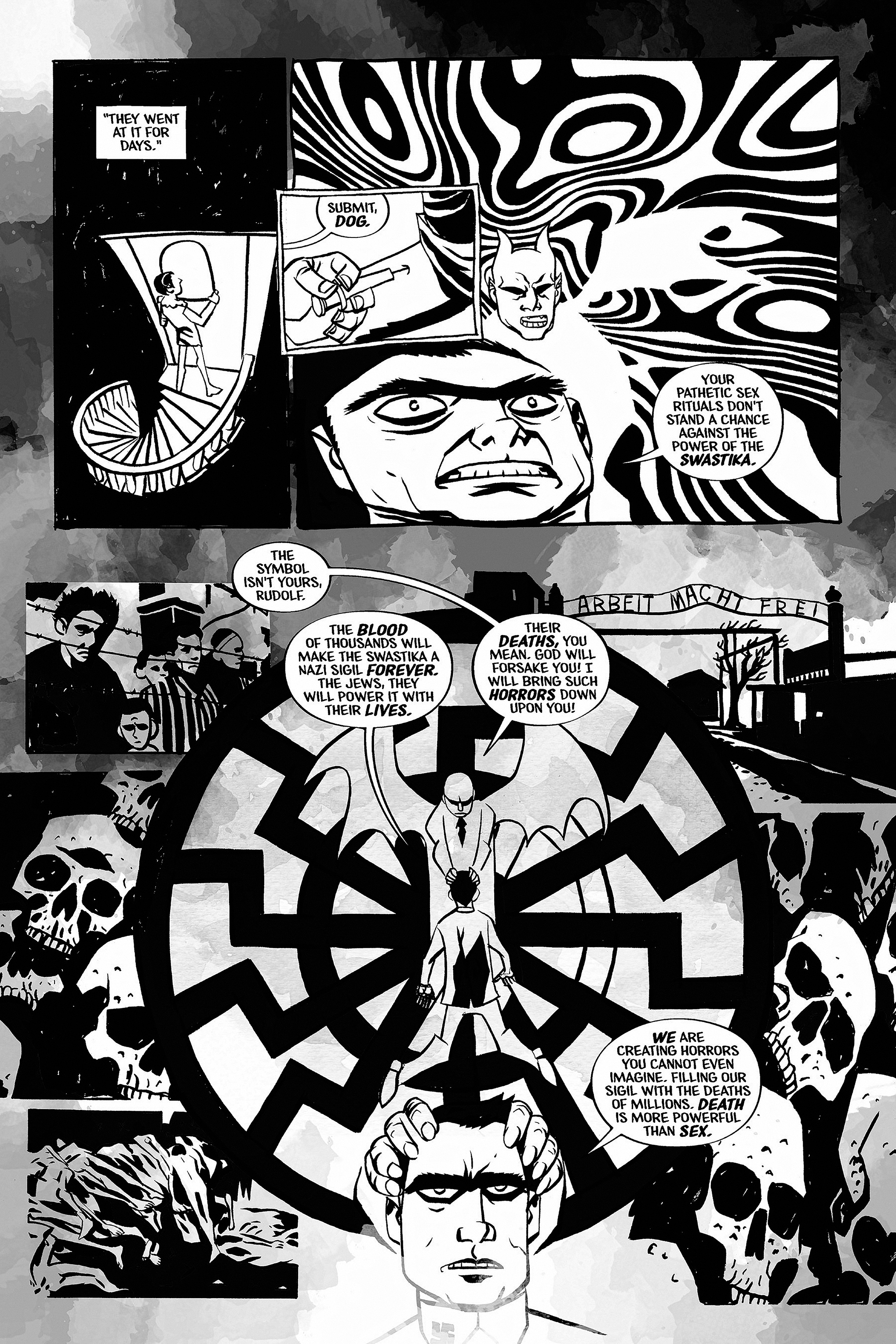 Read online Aleister & Adolf comic -  Issue # TPB - 43