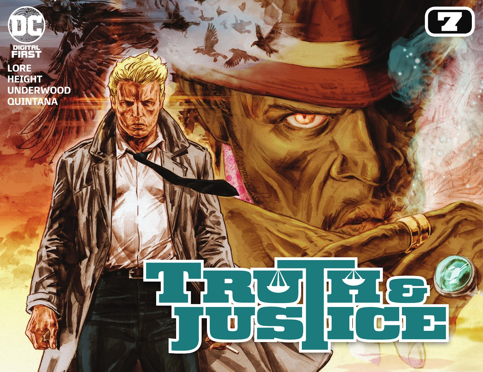 Truth & Justice issue 7 - Page 1