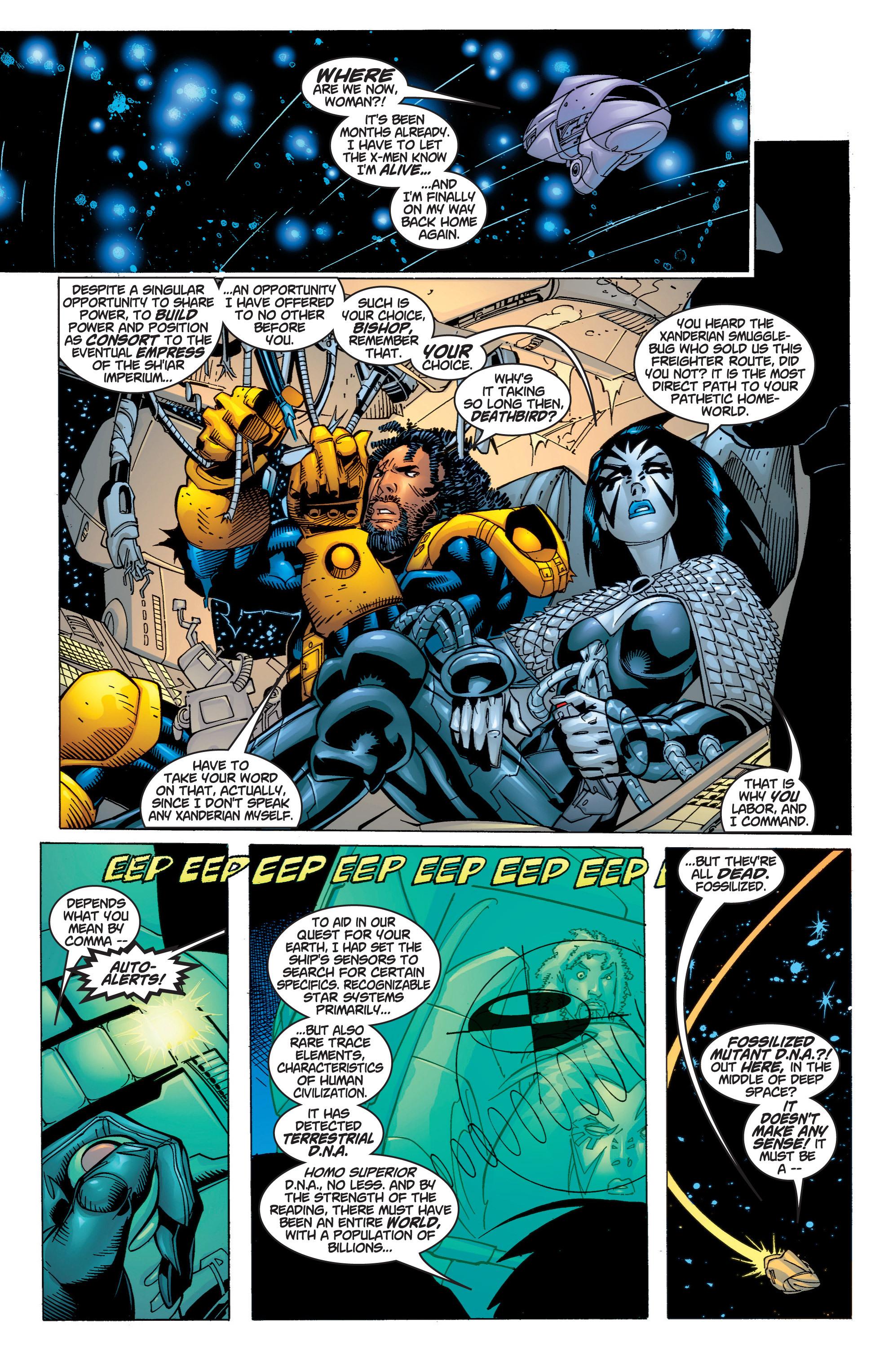 Read online Uncanny X-Men (1963) comic -  Issue #372 - 6