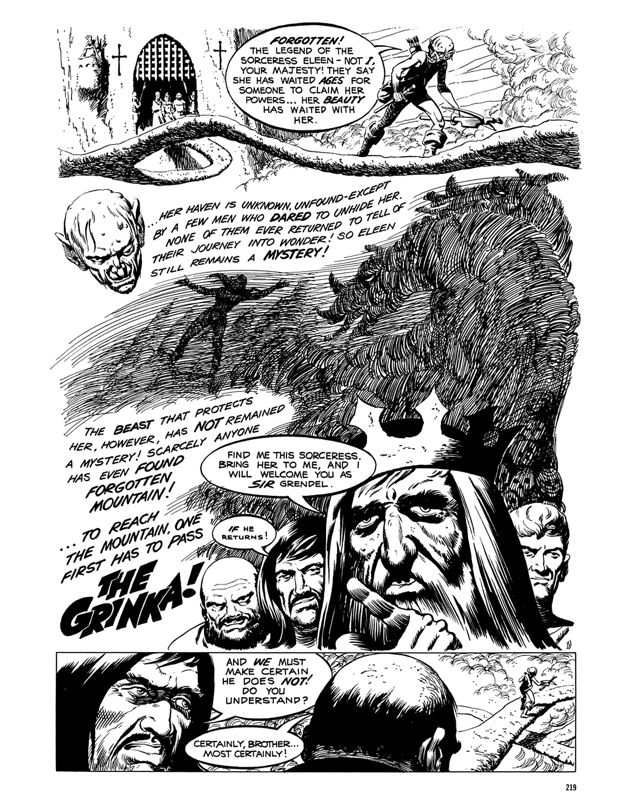 Read online Eerie Archives comic -  Issue # TPB 5 - 220