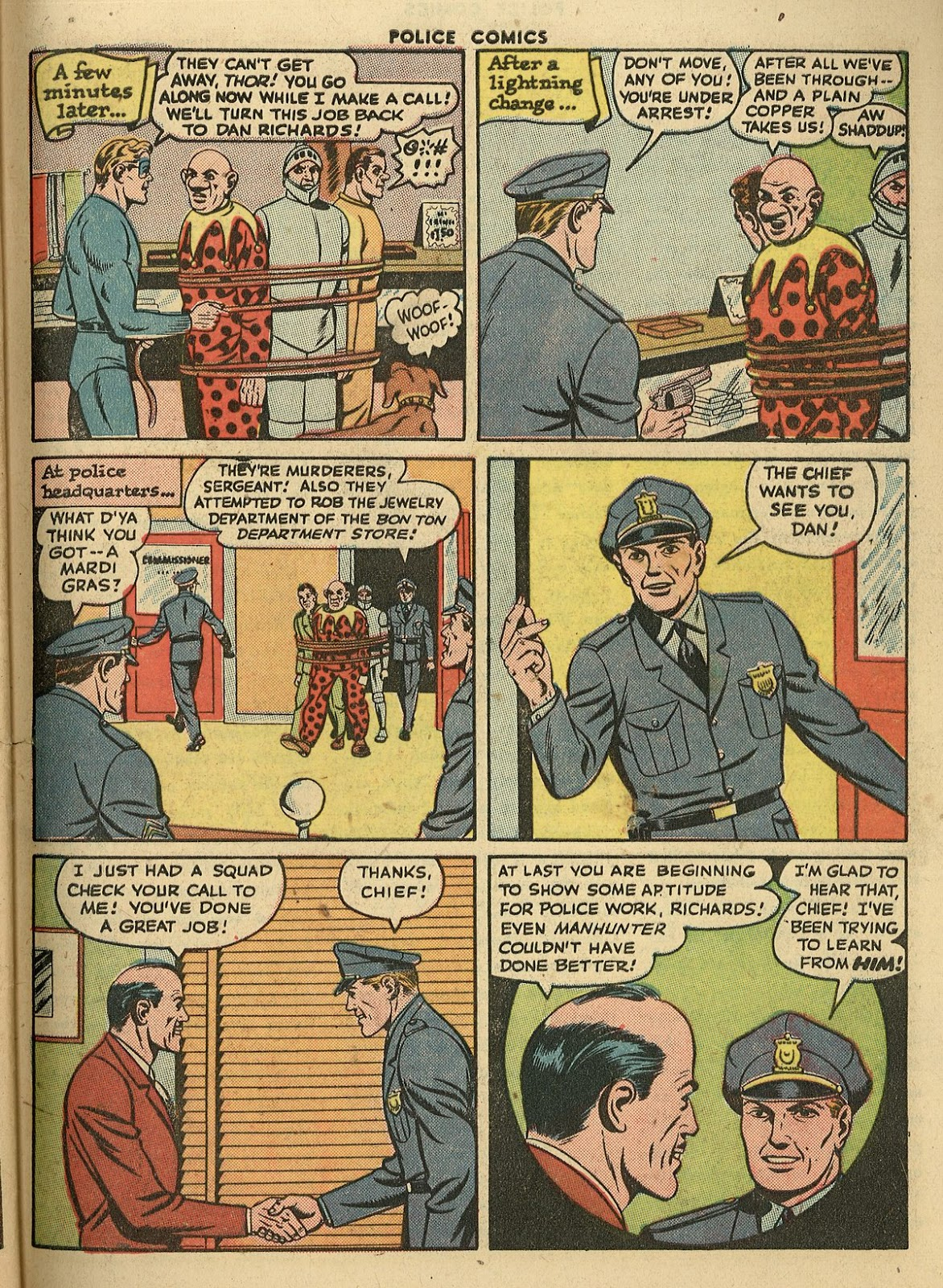 Police Comics issue 45 - Page 47