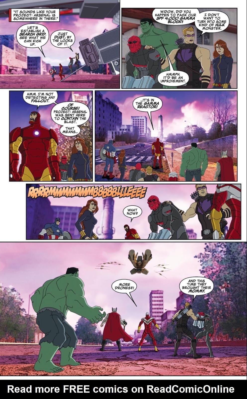 Read online Marvel Universe Avengers Assemble Season 2 comic -  Issue #1 - 12