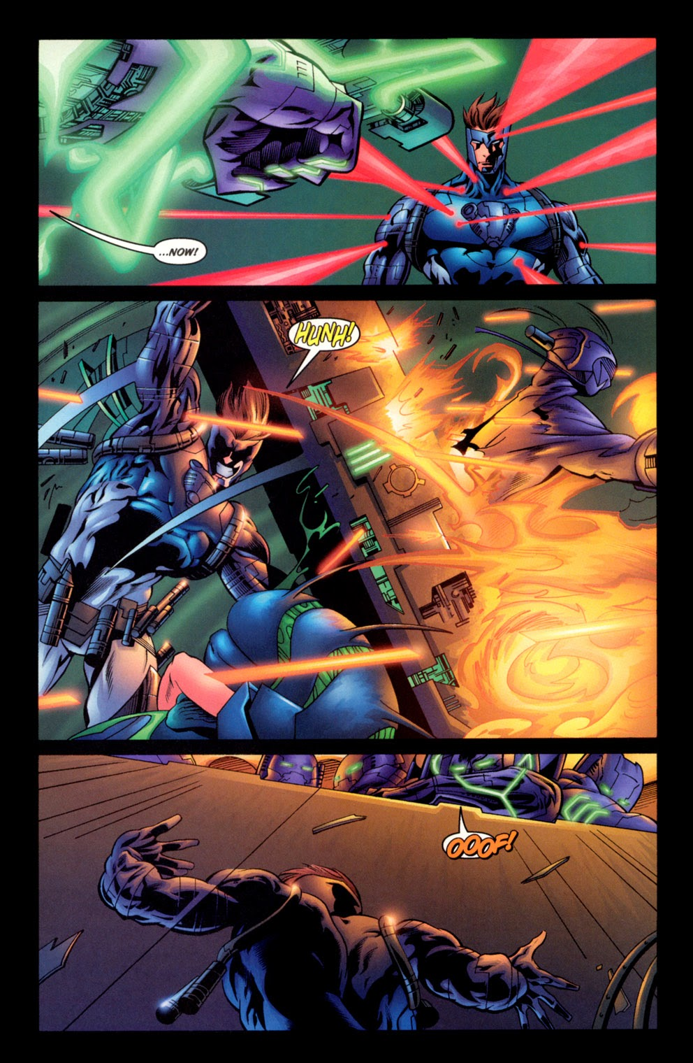 Read online C-23 comic -  Issue #3 - 4