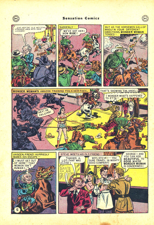 Read online Sensation (Mystery) Comics comic -  Issue #81 - 8