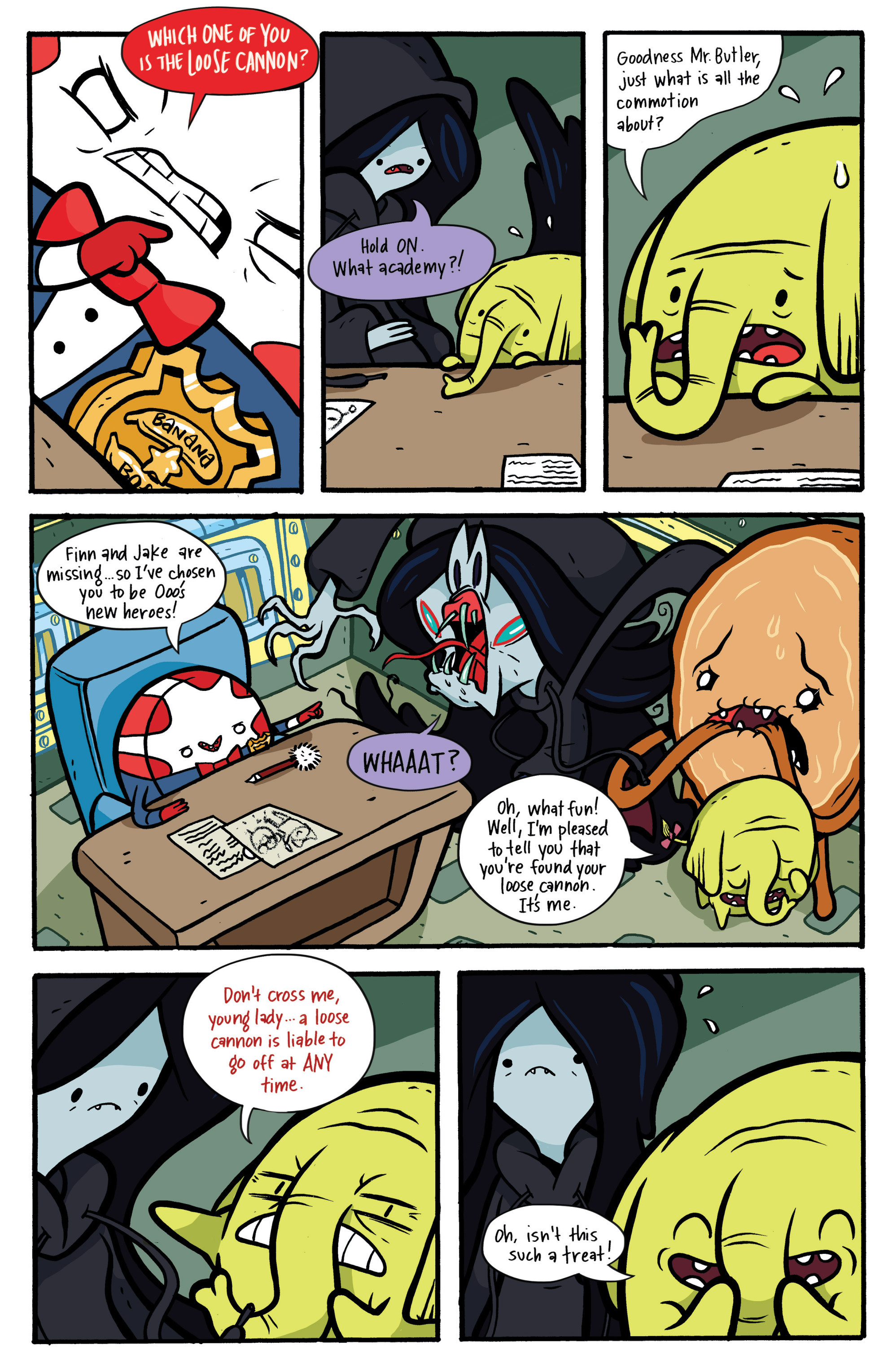 Read online Adventure Time: Candy Capers comic -  Issue #2 - 7