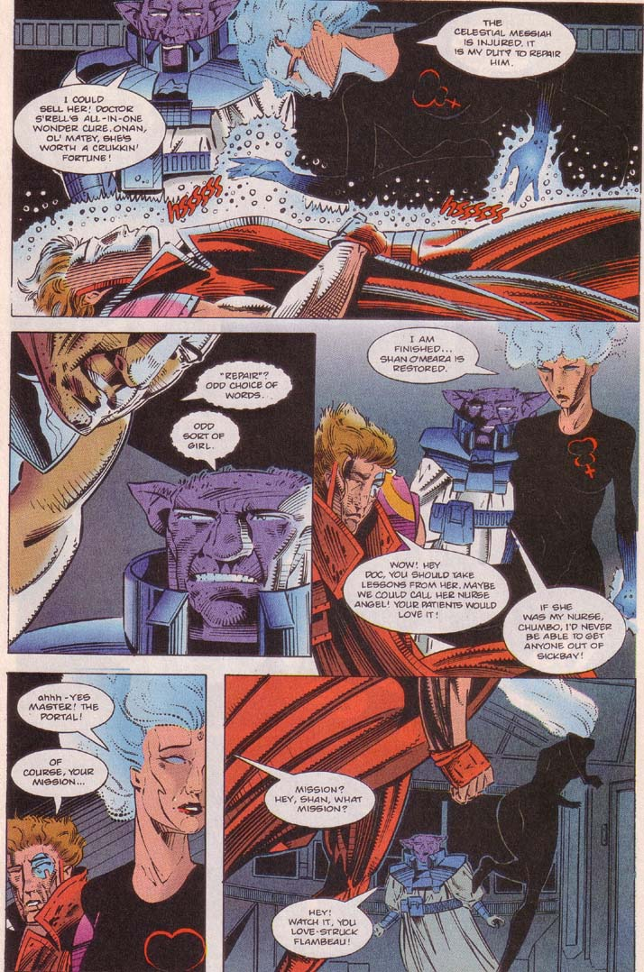 Read online Cyberspace 3000 comic -  Issue #5 - 18